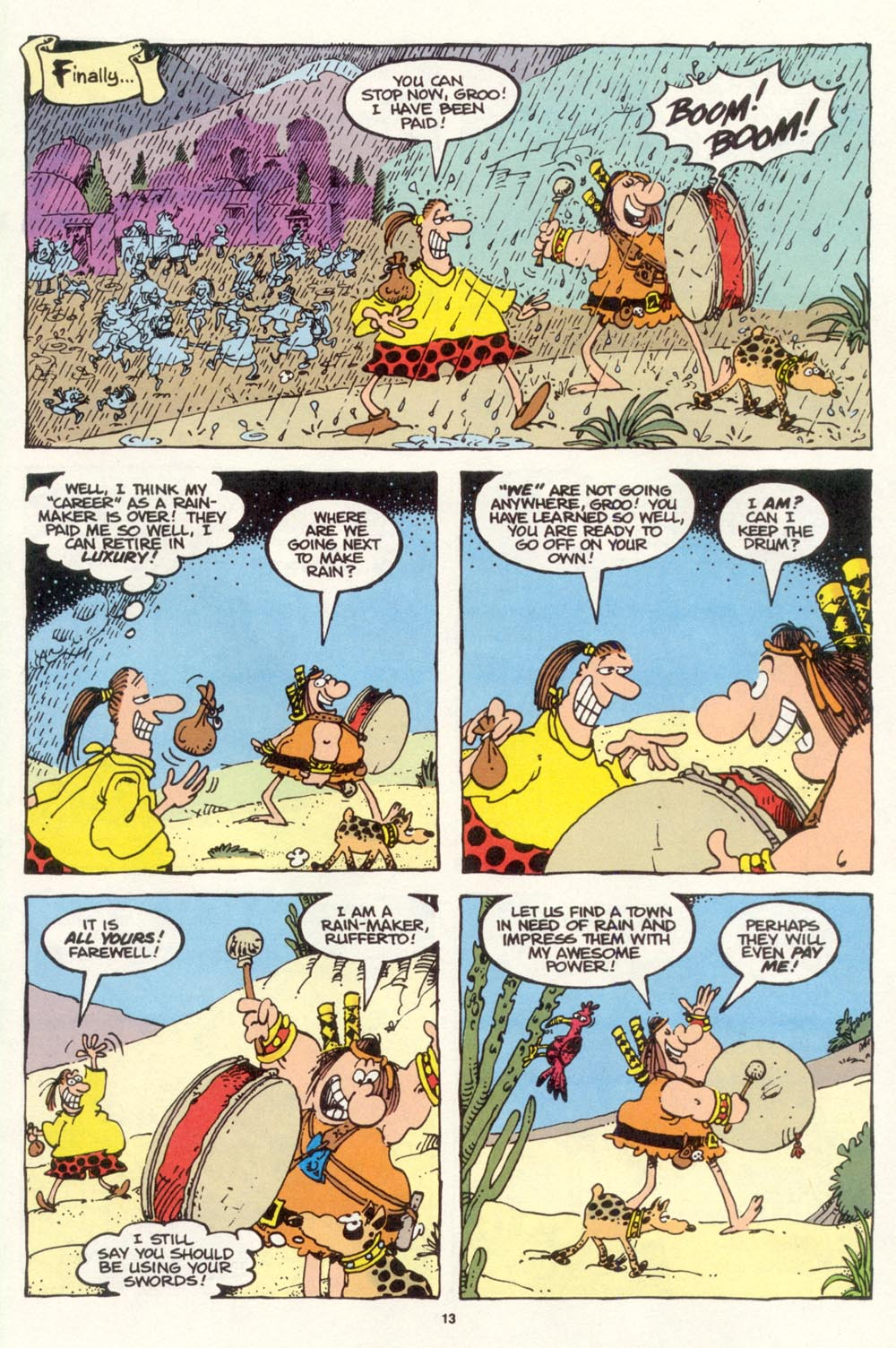 Read online Sergio Aragonés Groo the Wanderer comic -  Issue #113 - 15