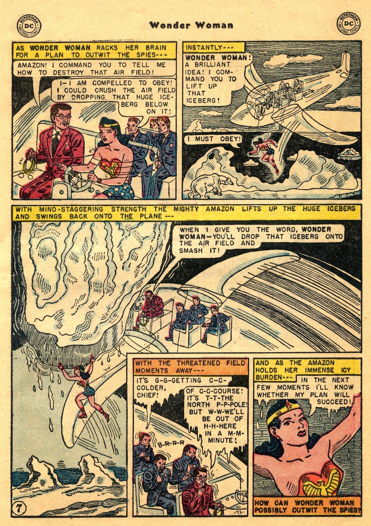 Read online Wonder Woman (1942) comic -  Issue #68 - 21