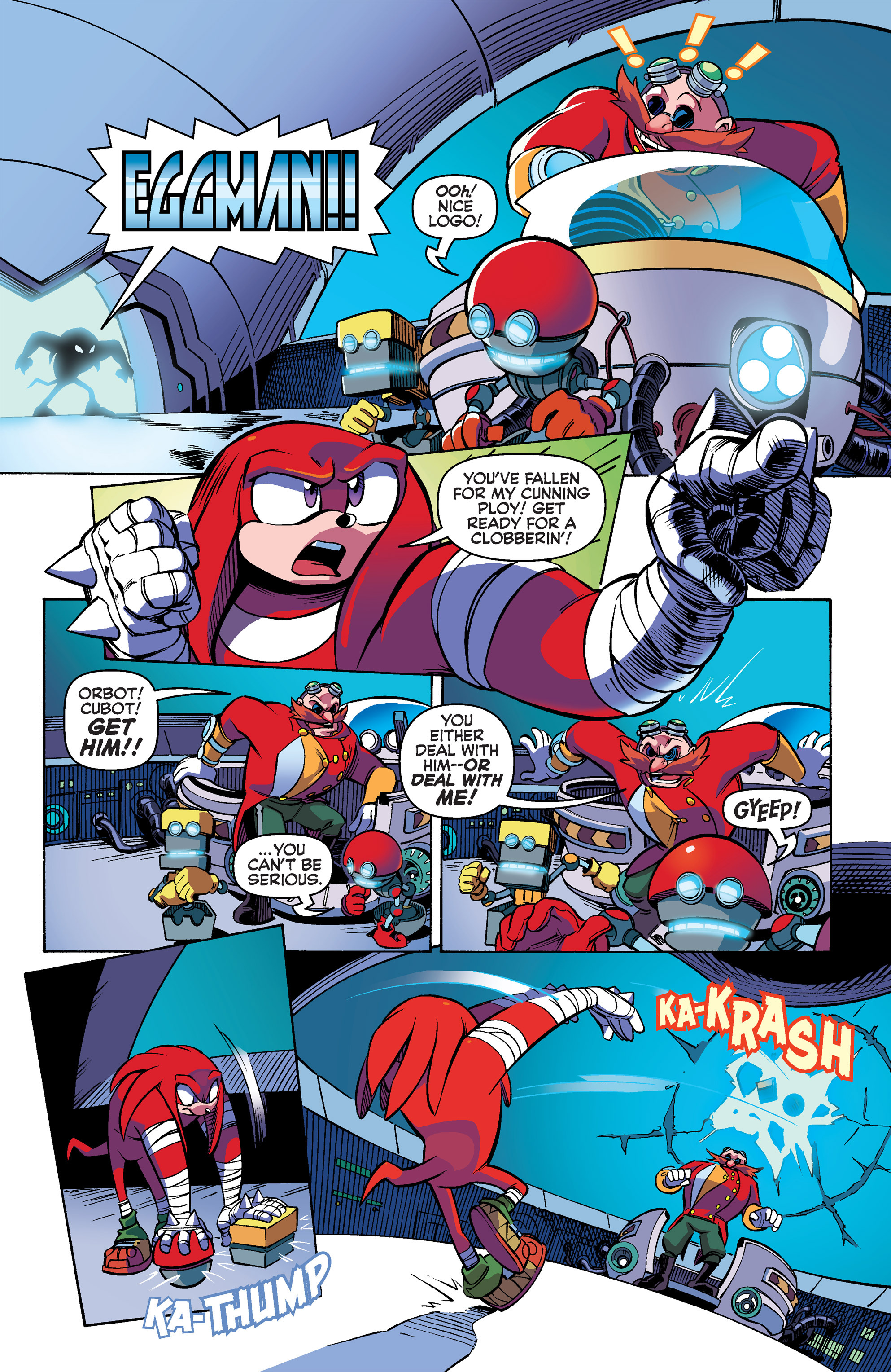 Read online Sonic Boom comic -  Issue #2 - 16
