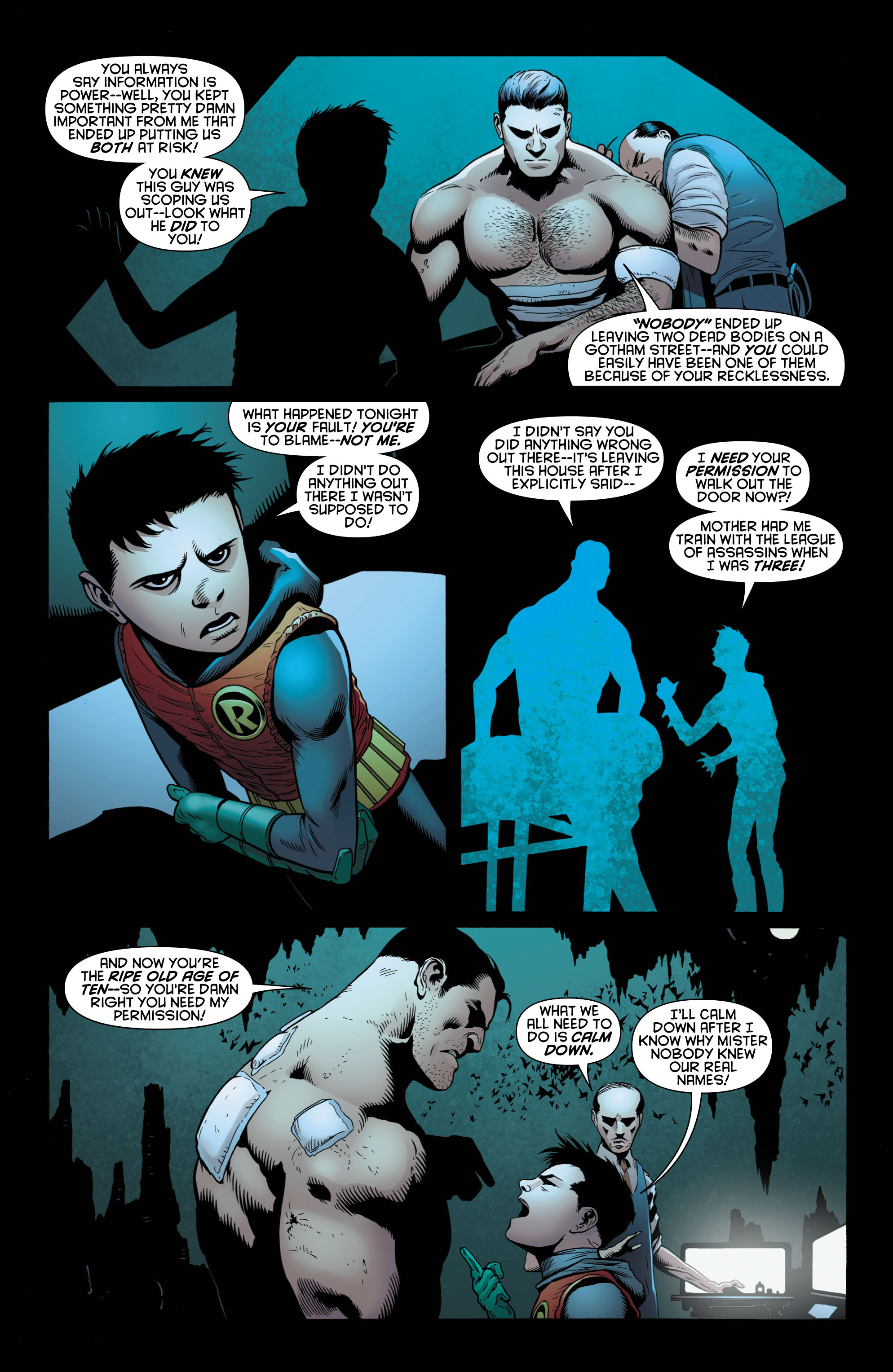Read online Batman and Robin (2011) comic -  Issue # TPB 1 - 83