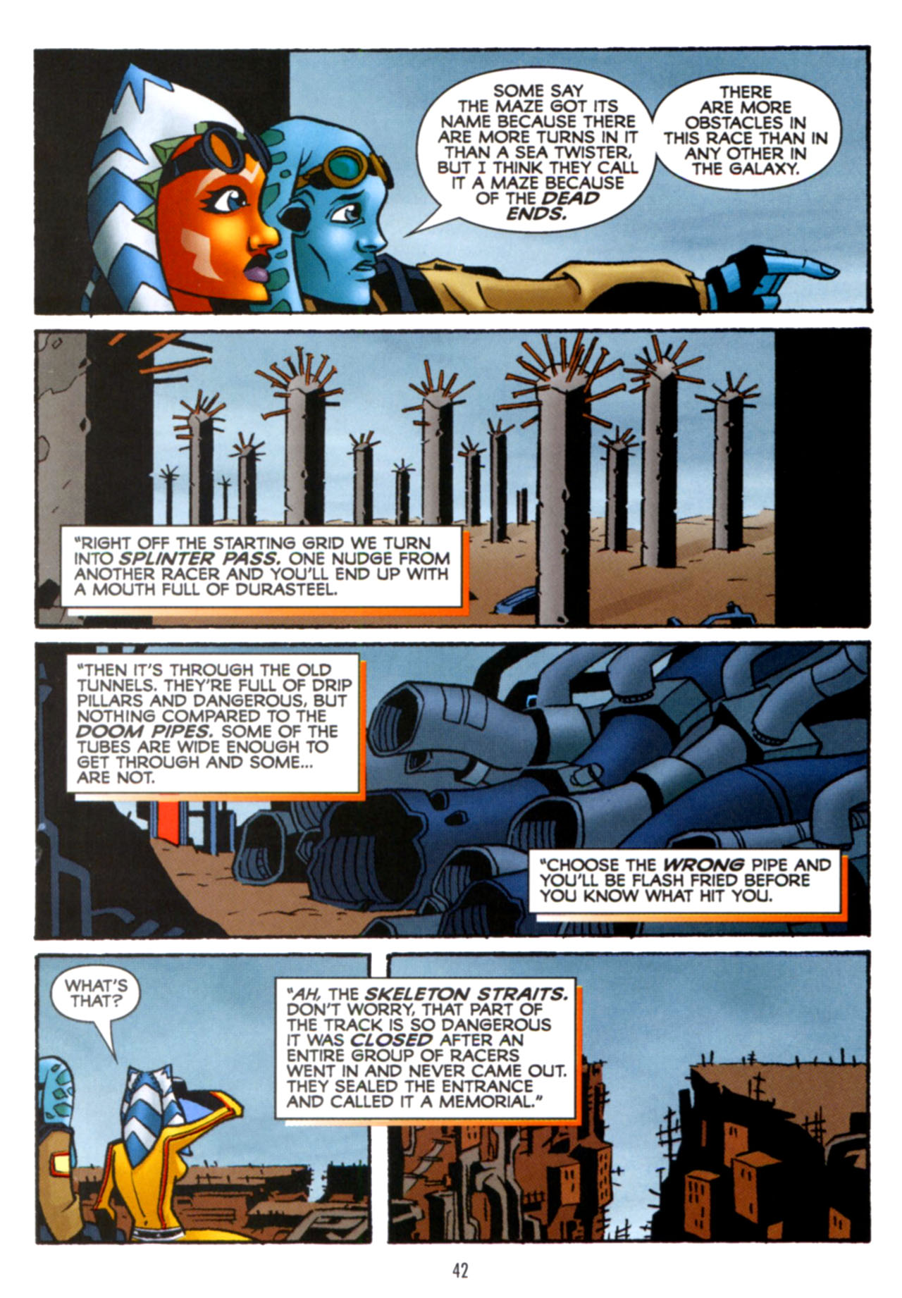 Read online Star Wars: The Clone Wars - Crash Course comic -  Issue # Full - 43