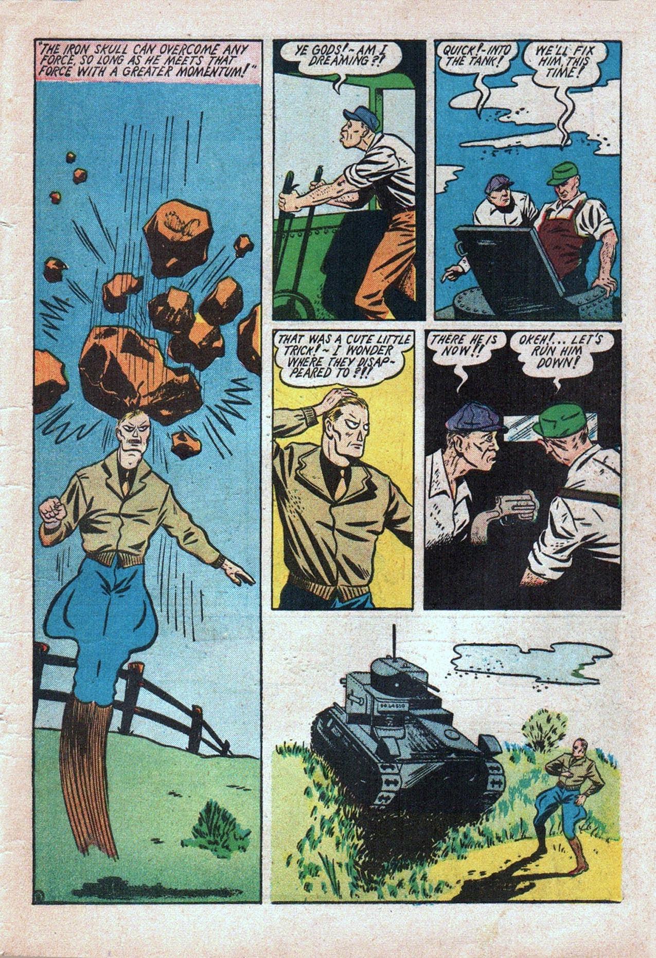 Read online Amazing Man Comics comic -  Issue #20 - 60
