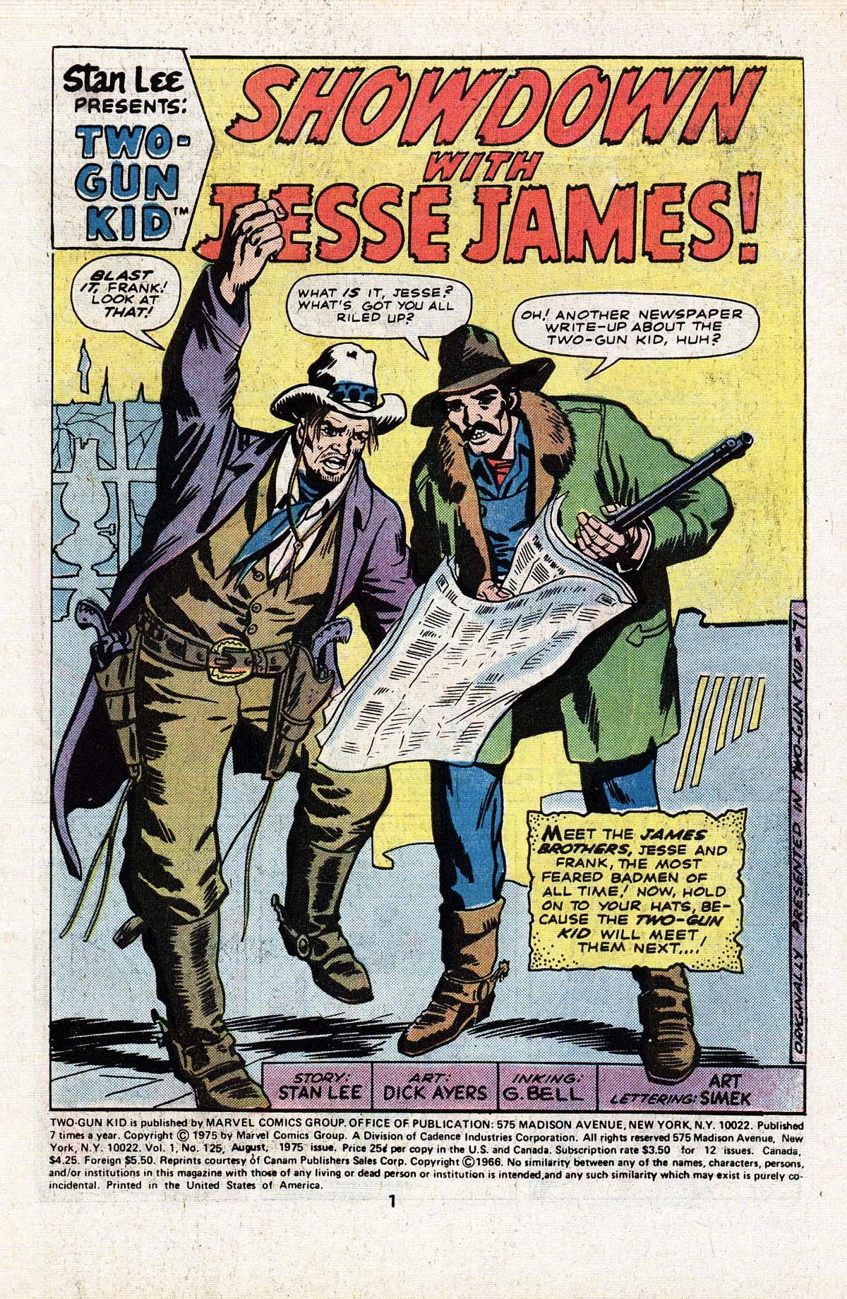 Read online Two-Gun Kid comic -  Issue #125 - 3