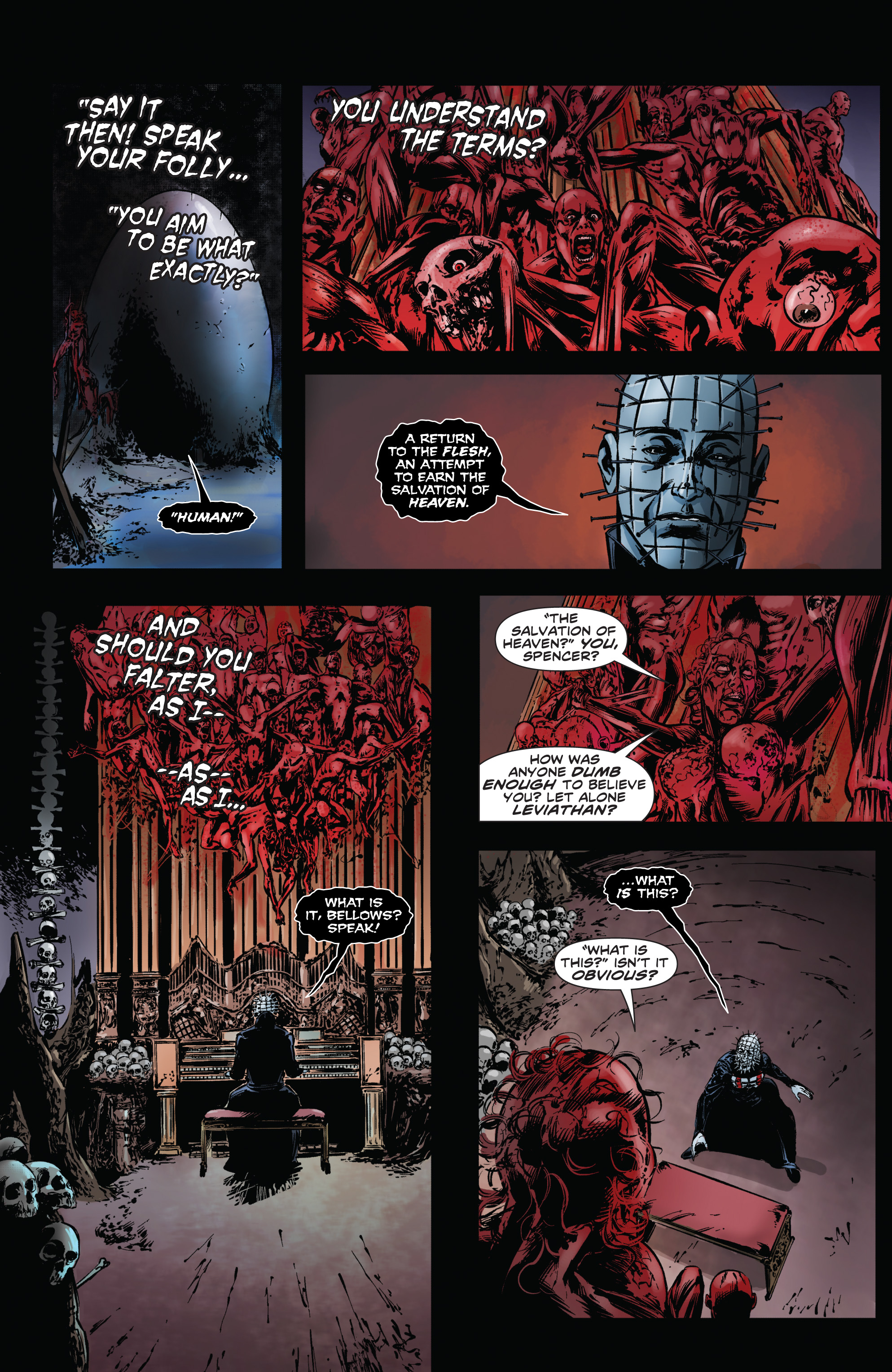 Read online Clive Barker's Hellraiser: The Dark Watch comic -  Issue # TPB 1 - 58