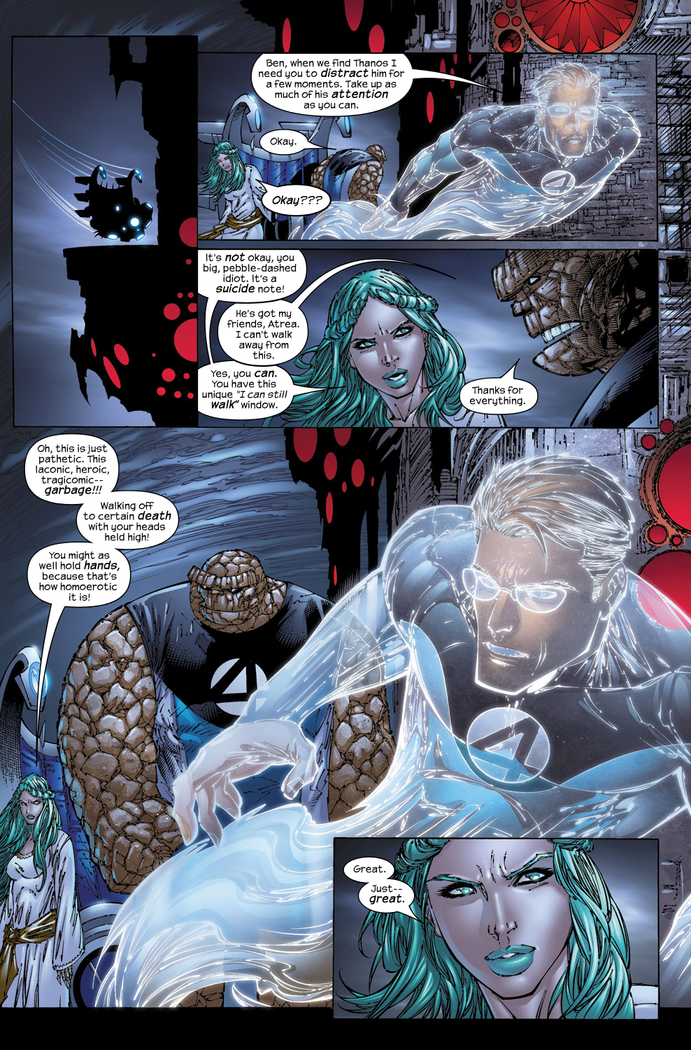 Read online Ultimate Fantastic Four (2004) comic -  Issue #53 - 10