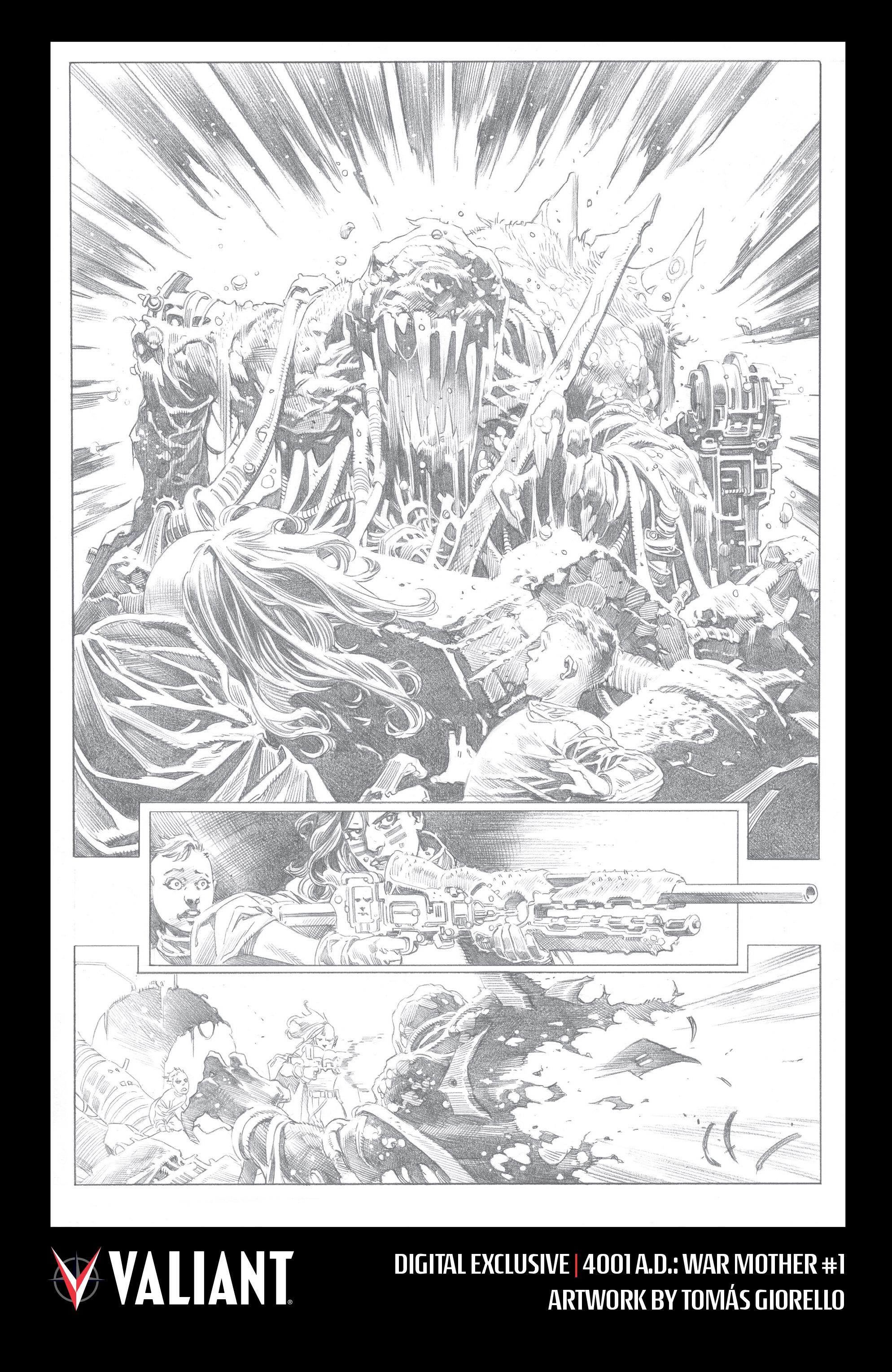 Read online 4001 A.D.: War Mother comic -  Issue #4001 A.D.: War Mother Full - 32