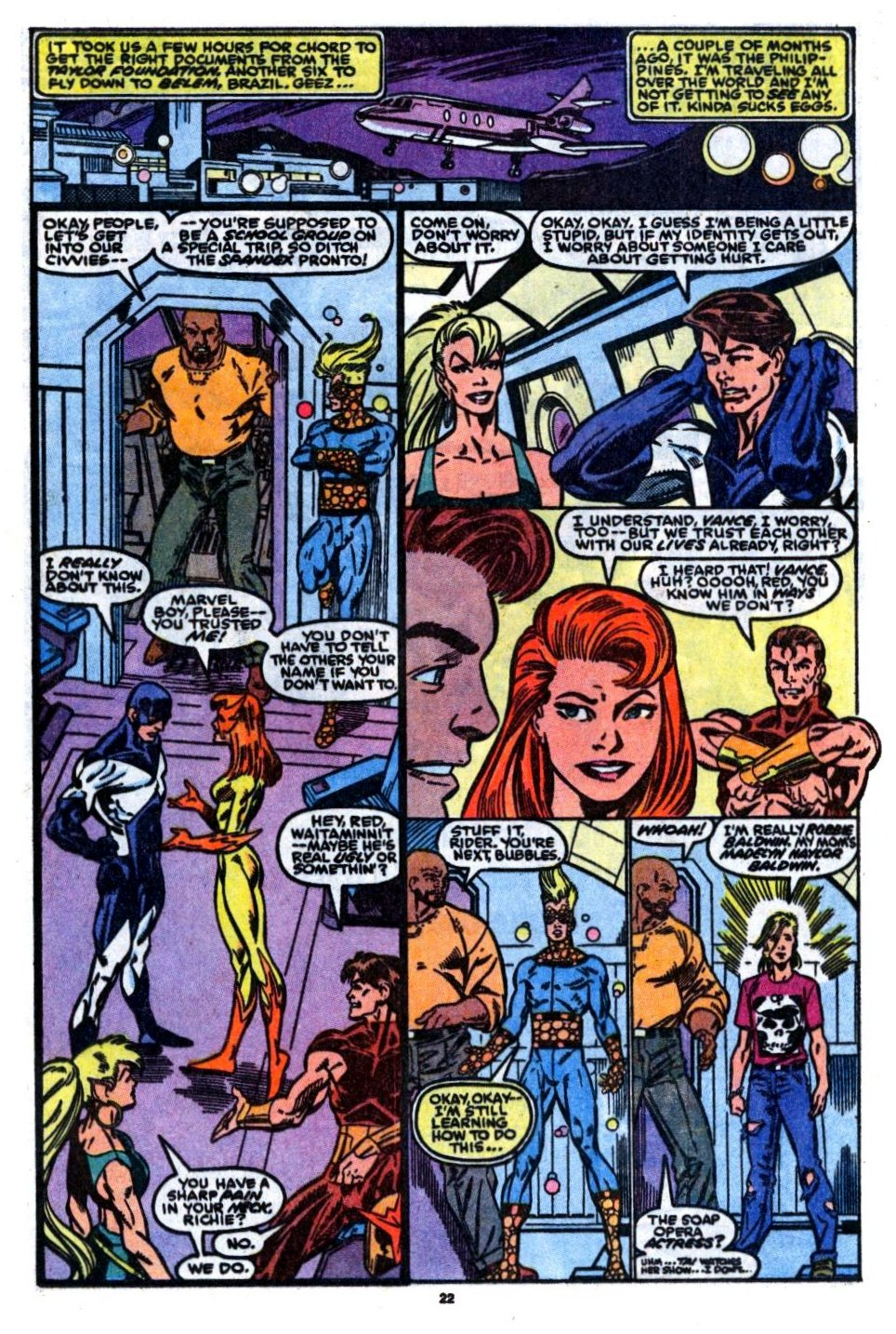 The New Warriors Issue #7 #11 - English 16