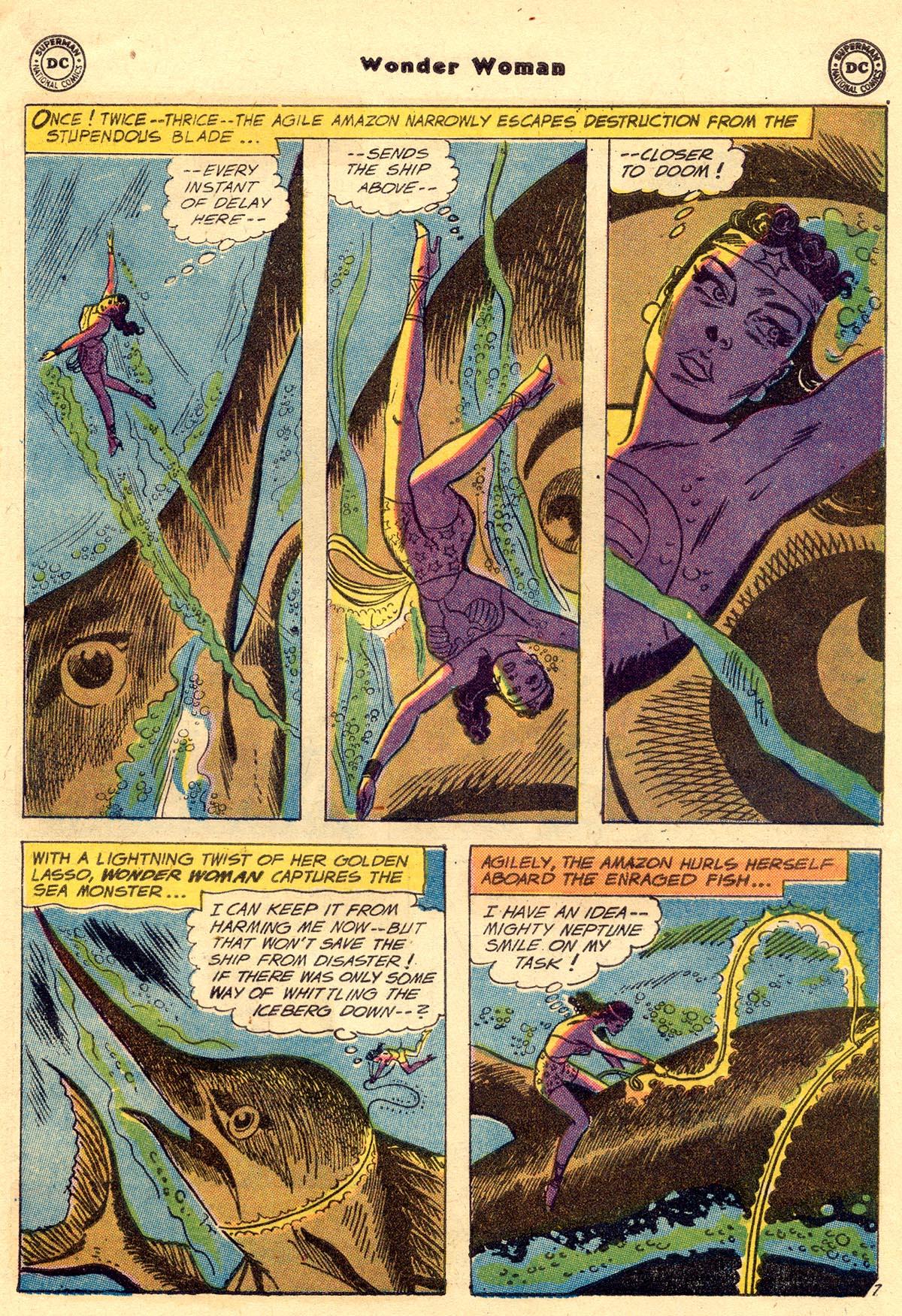 Read online Wonder Woman (1942) comic -  Issue #110 - 9