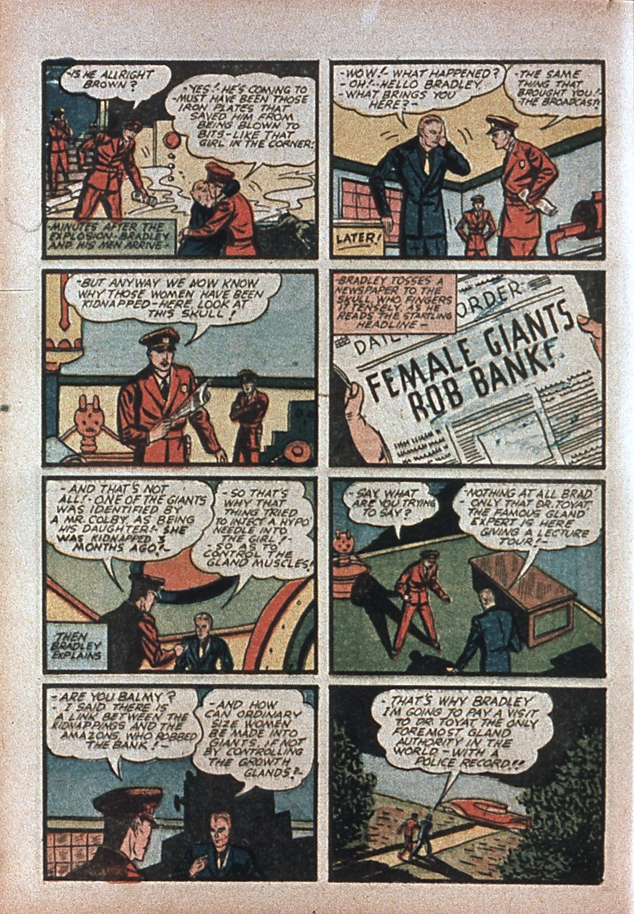 Read online Amazing Man Comics comic -  Issue #7 - 23