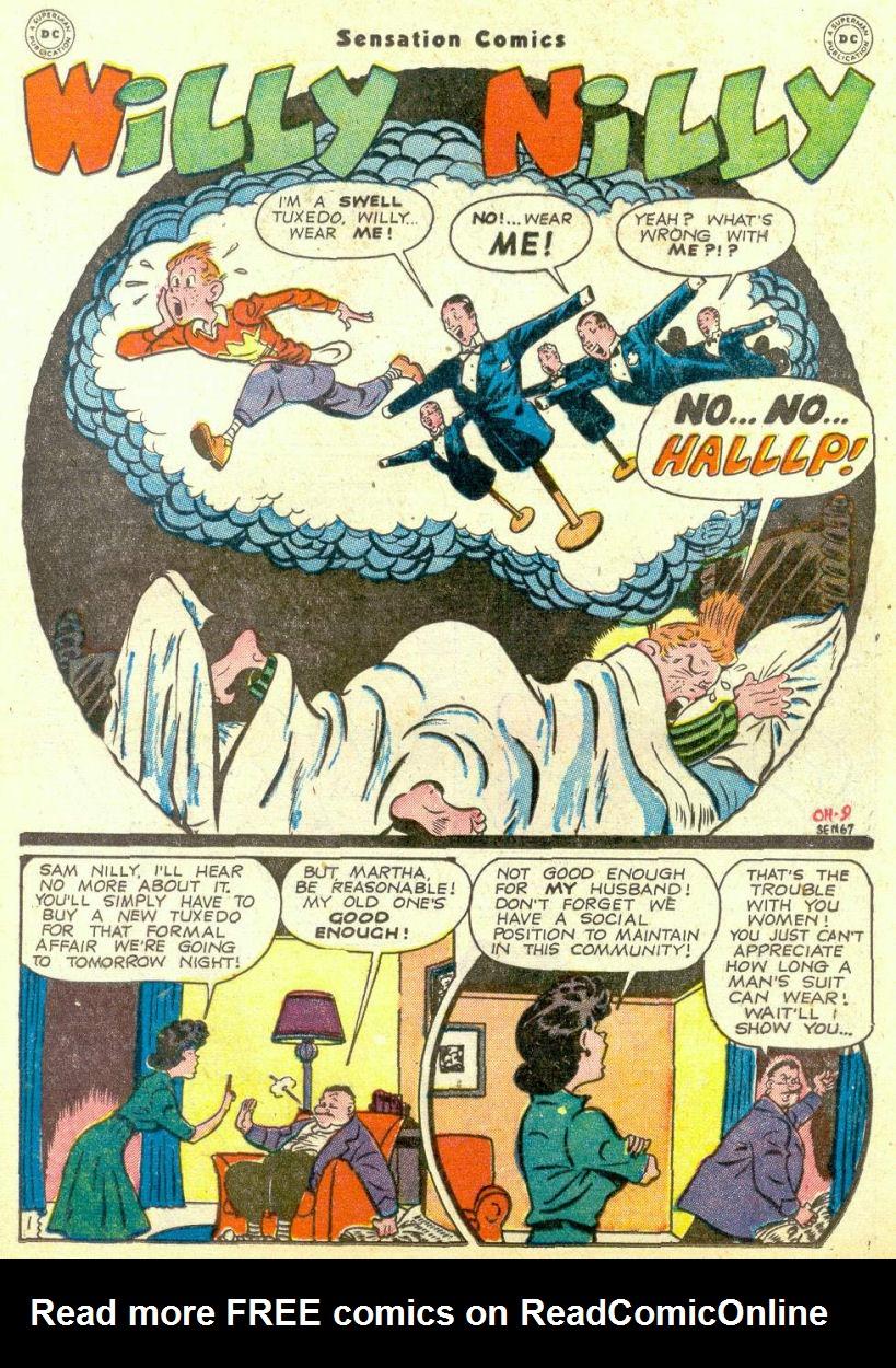 Read online Sensation (Mystery) Comics comic -  Issue #67 - 25