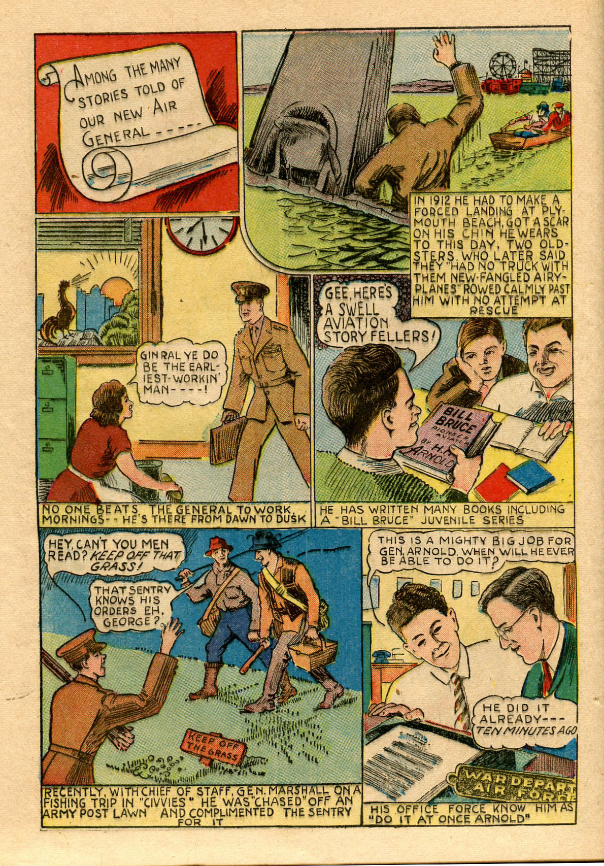 Read online Shadow Comics comic -  Issue #33 - 48