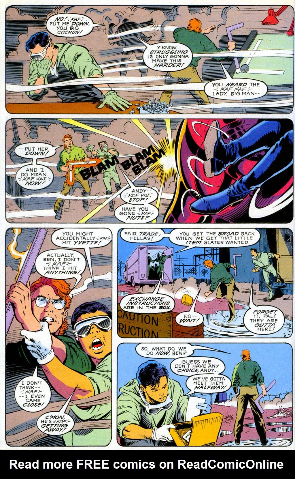 Read online Gunfire comic -  Issue #1 - 28