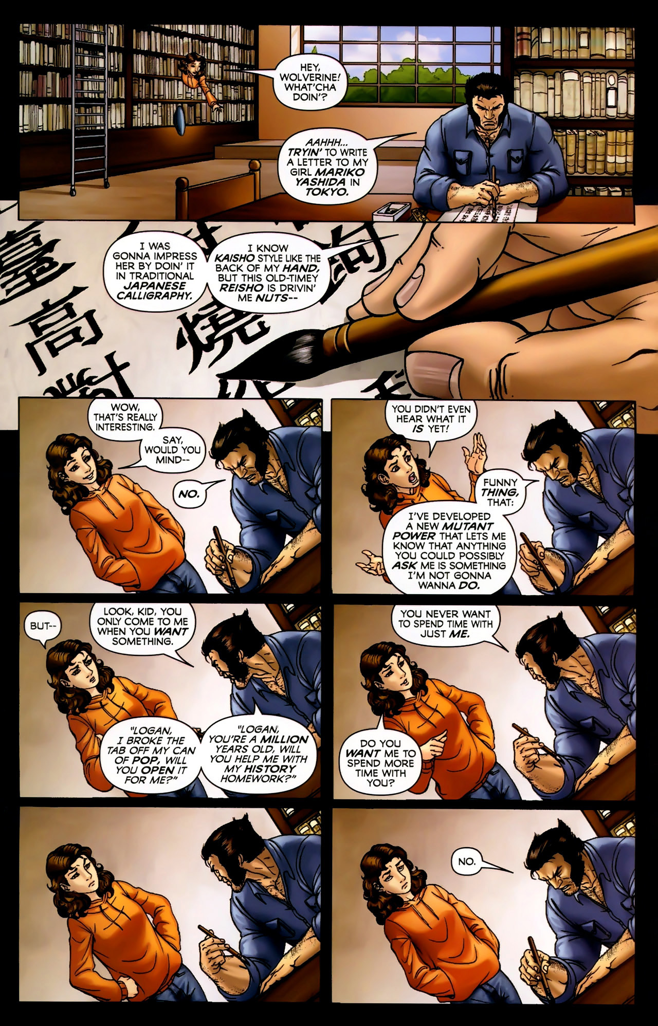 Read online Wolverine: First Class comic -  Issue #2 - 4