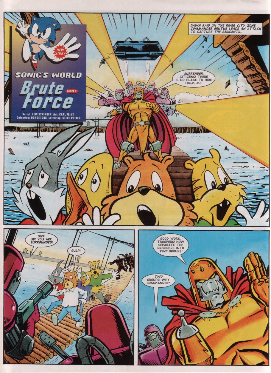 Read online Sonic the Comic comic -  Issue #69 - 24