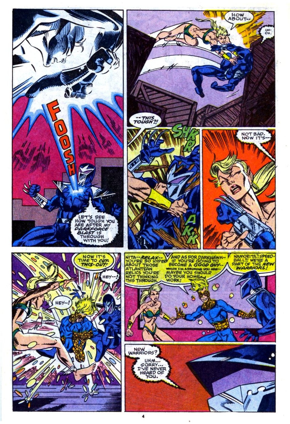 The New Warriors Issue #14 #18 - English 5