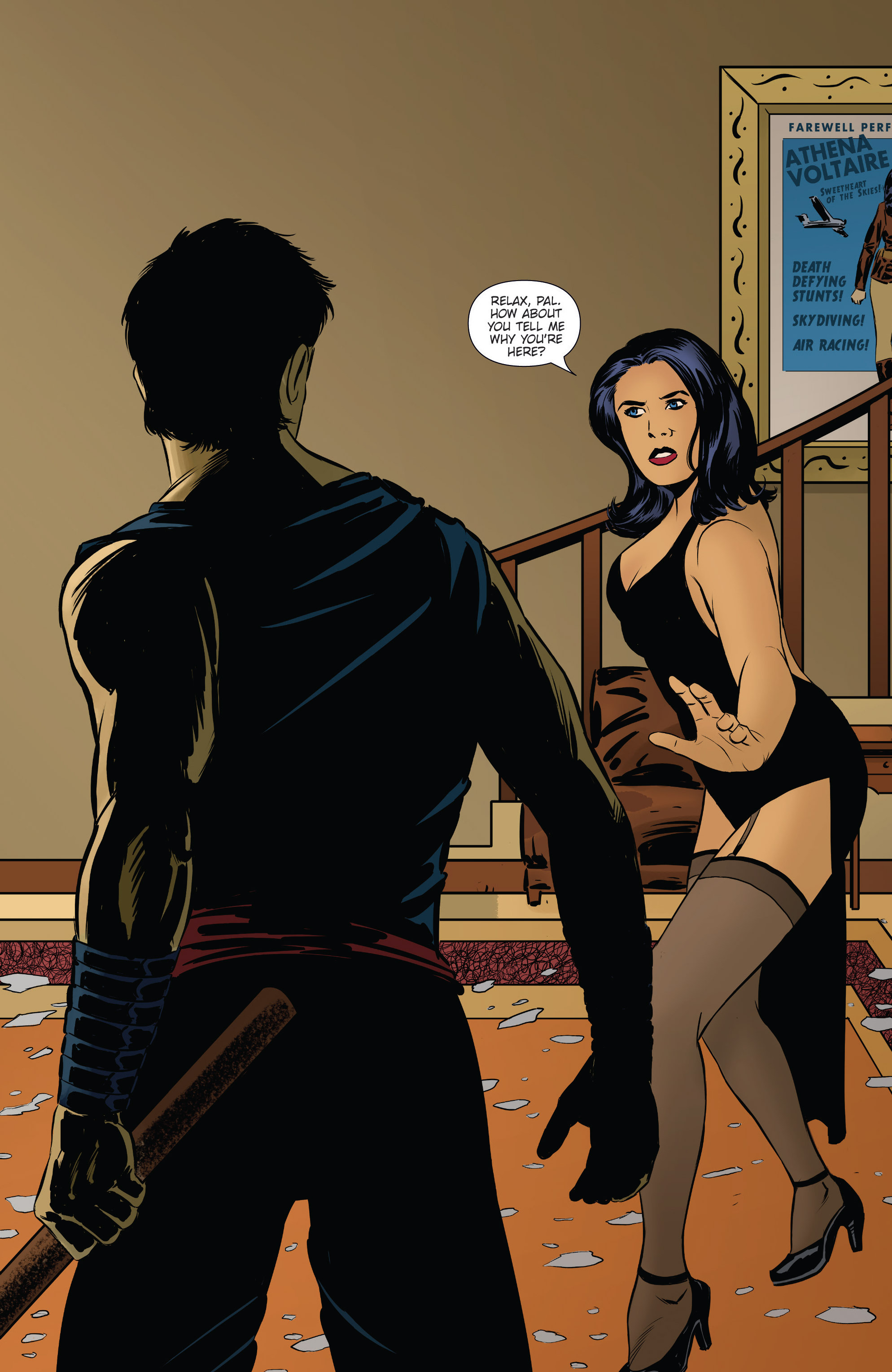 Read online Athena Voltaire and the Volcano Goddess comic -  Issue #2 - 3