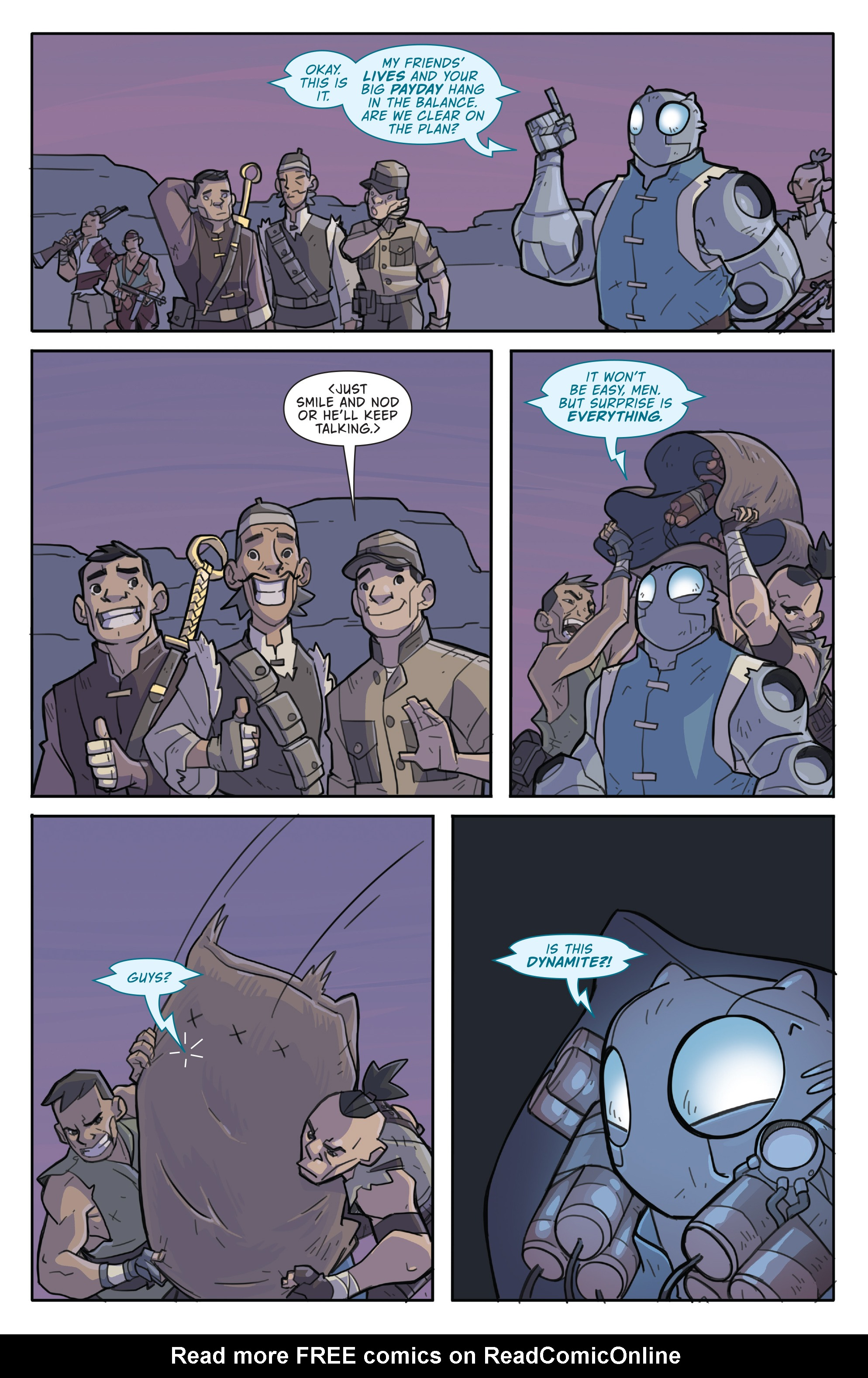 Read online Atomic Robo and the Temple of Od comic -  Issue #4 - 12