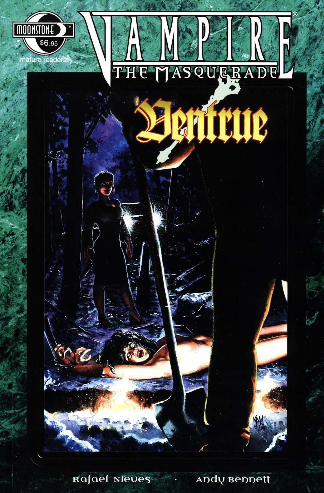 Read online Vampire the Masquerade comic -  Issue # Ventrue - 1
