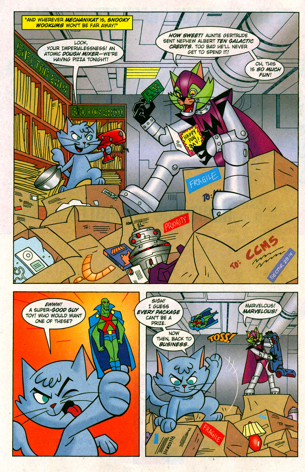 Read online Krypto the Superdog comic -  Issue #6 - 7