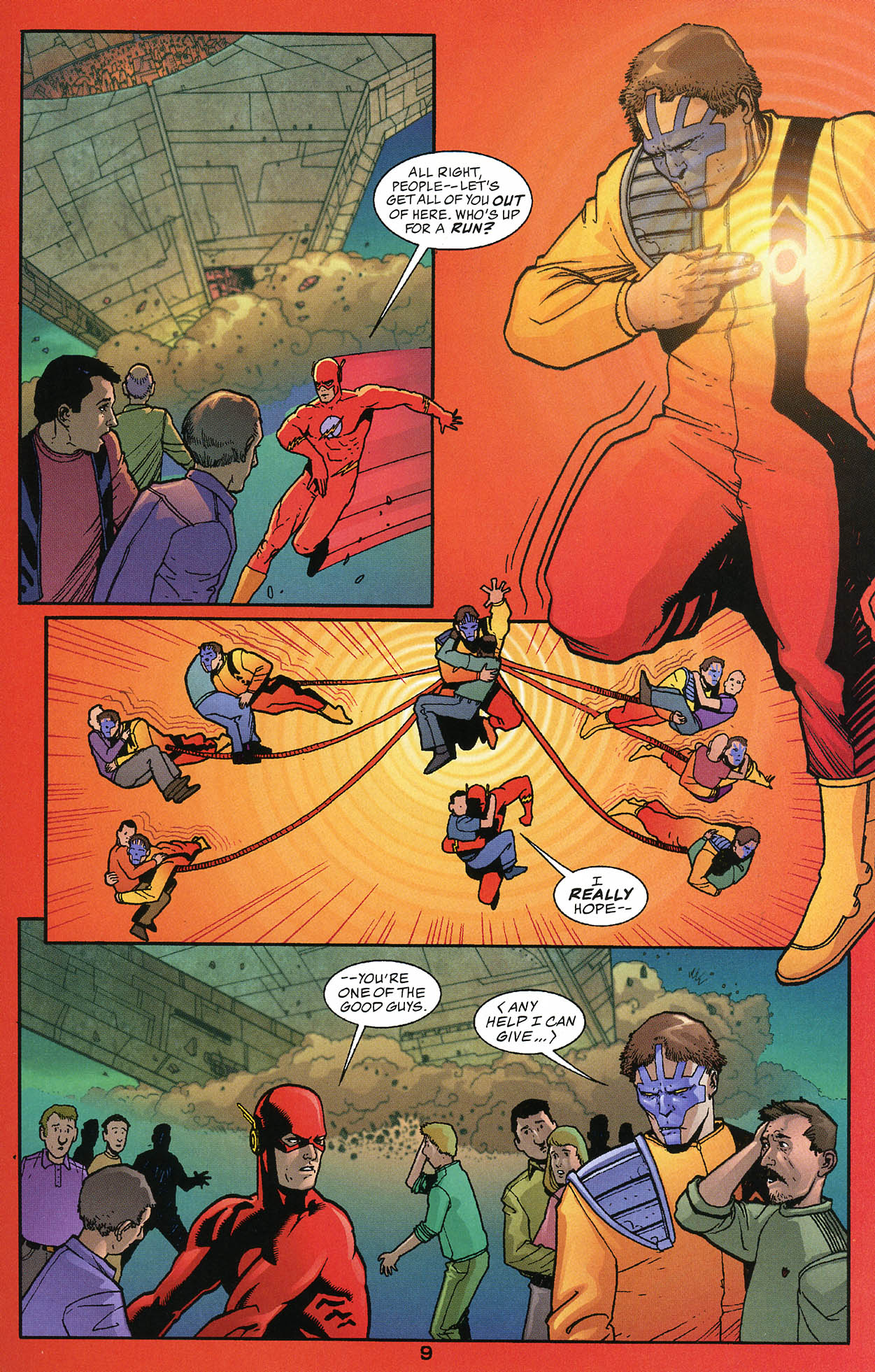 Read online JLA/Haven: Arrival comic -  Issue # Full - 9