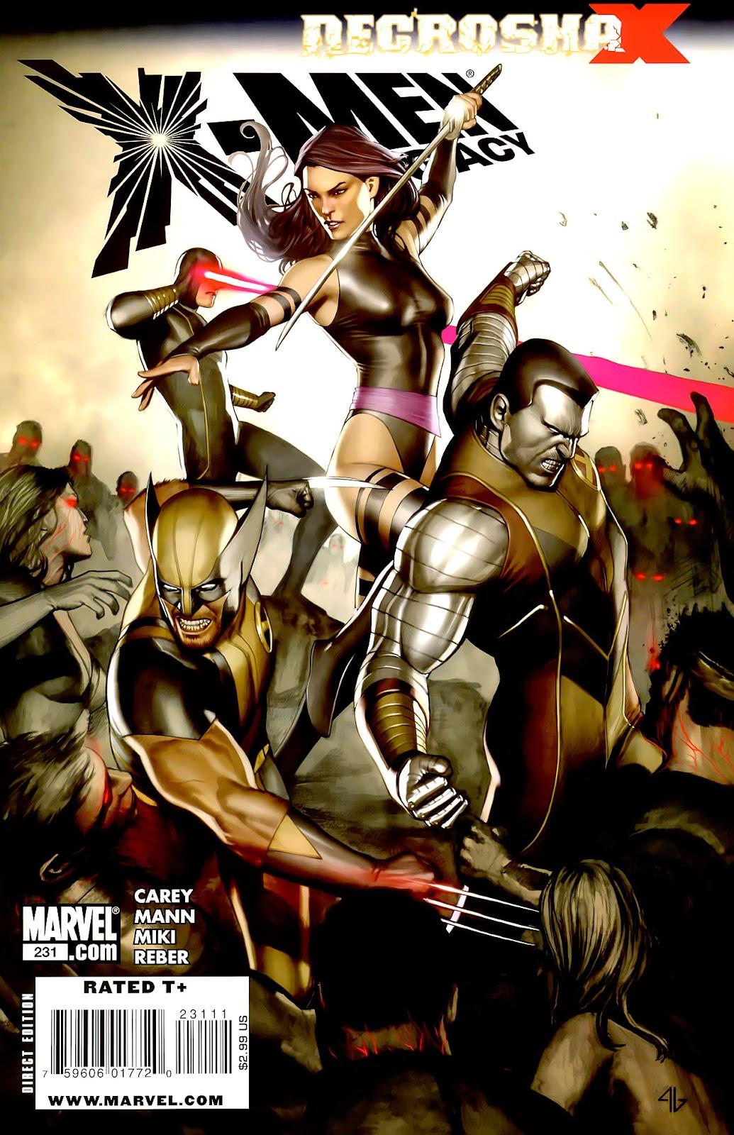 X-Men Legacy (2008) 231 Page 1