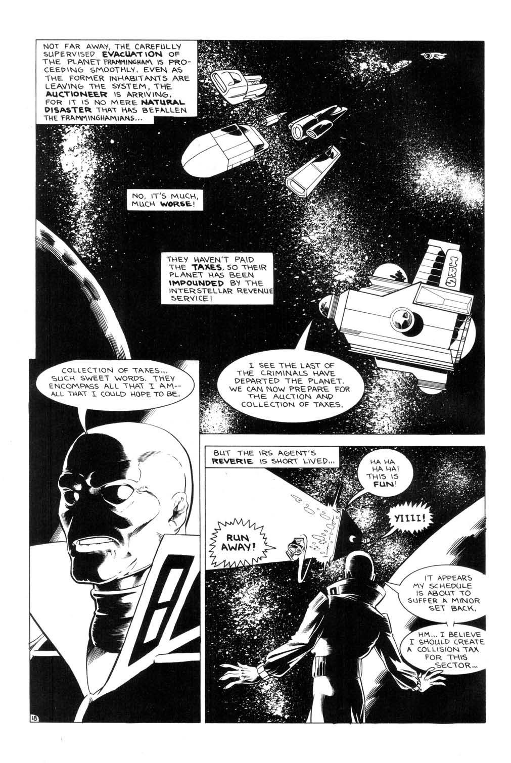 Aristocratic Xtraterrestrial Time-Traveling Thieves issue 7 - Page 20