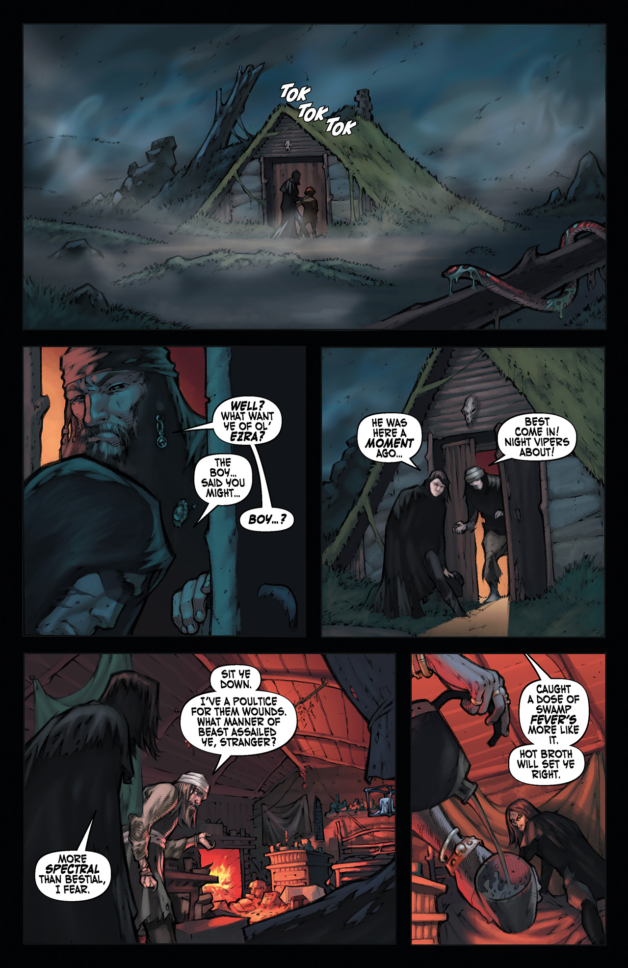 Read online Solomon Kane: Red Shadows comic -  Issue #1 - 17