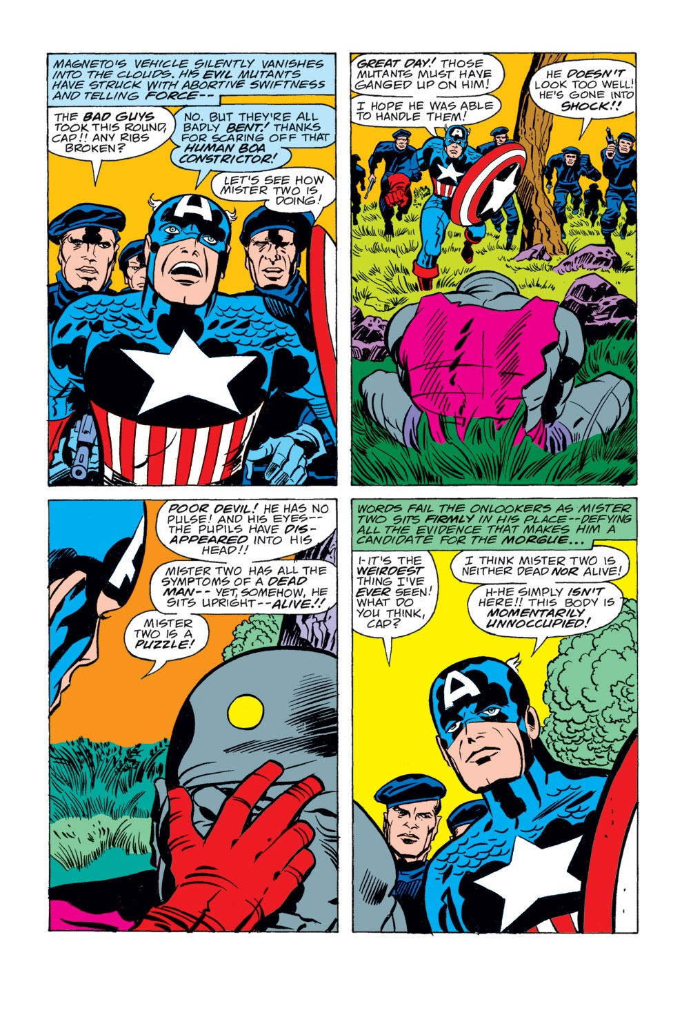 Read online Captain America (1968) comic -  Issue # _Annual 4 - 20