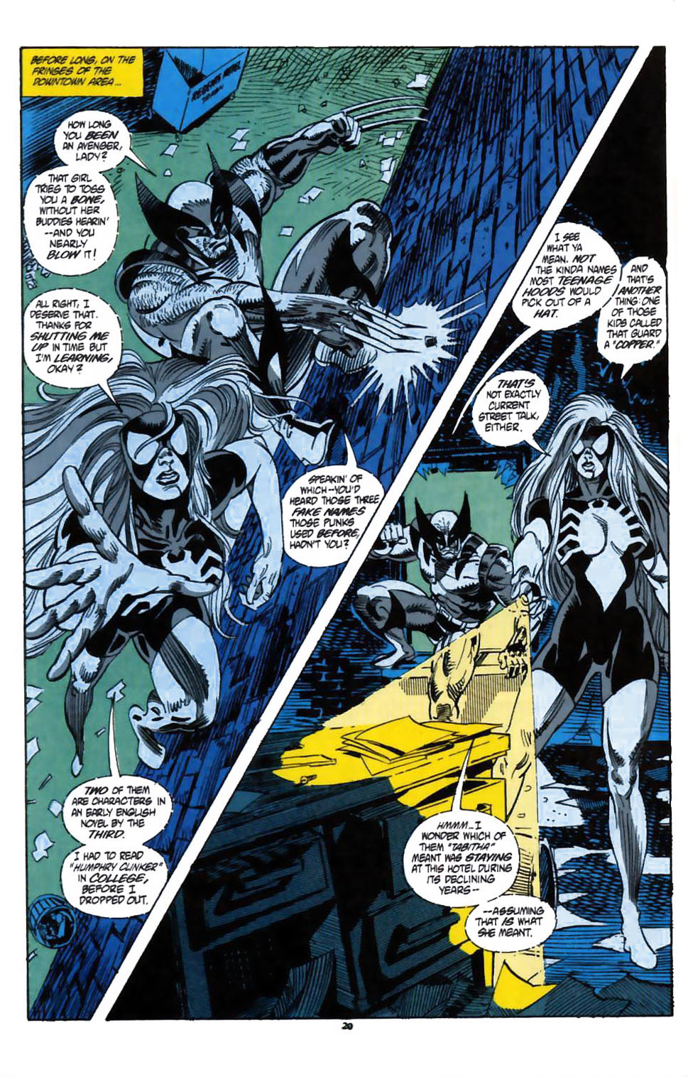 Read online Secret Defenders comic -  Issue #1 - 17