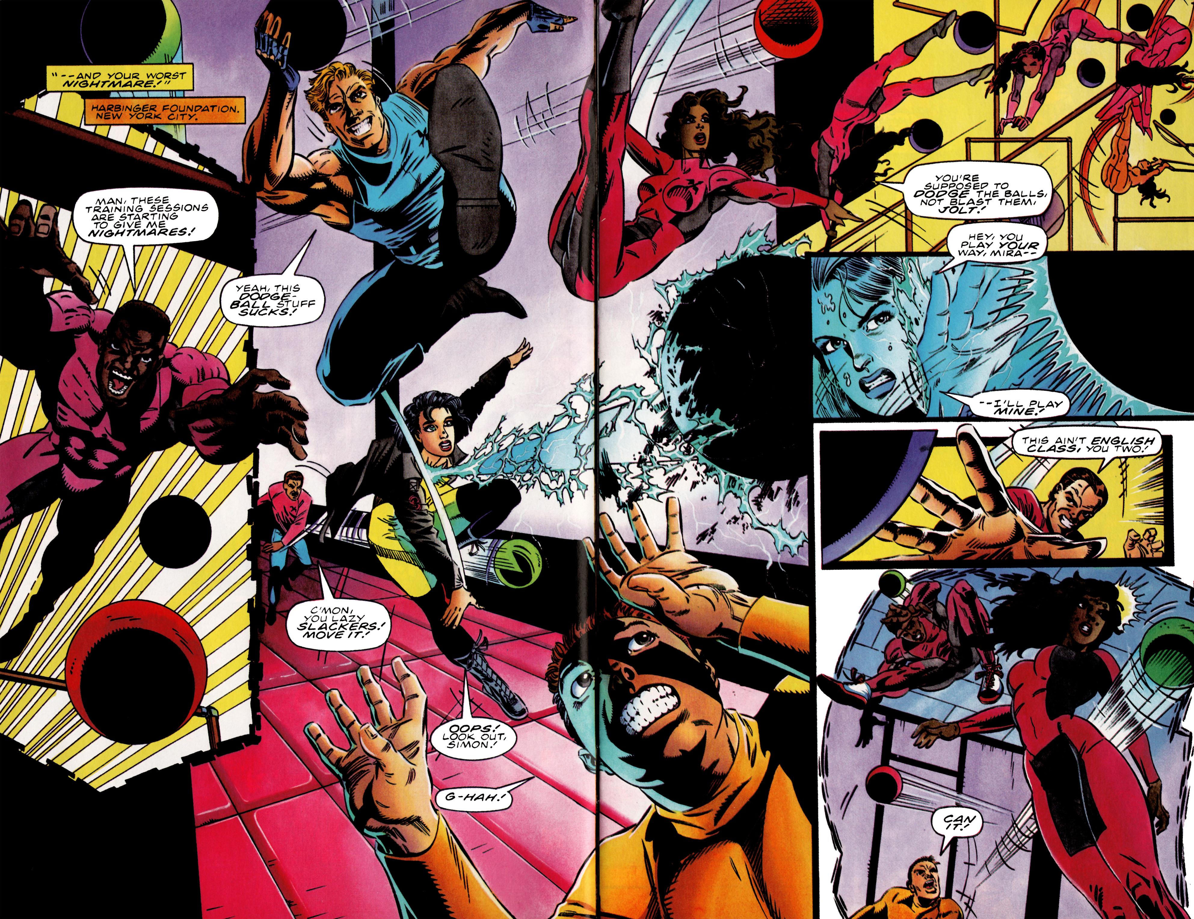 Read online Harbinger (1992) comic -  Issue #37 - 5