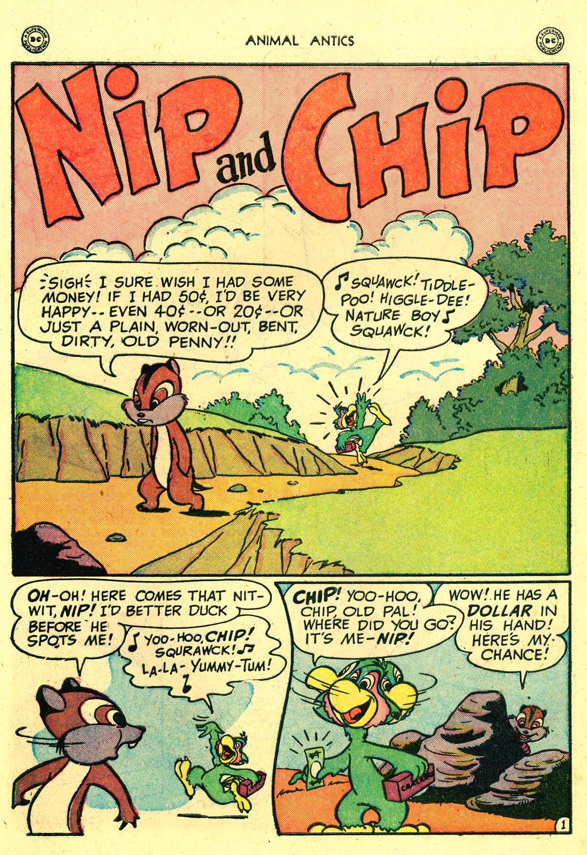 Read online Animal Antics comic -  Issue #18 - 10