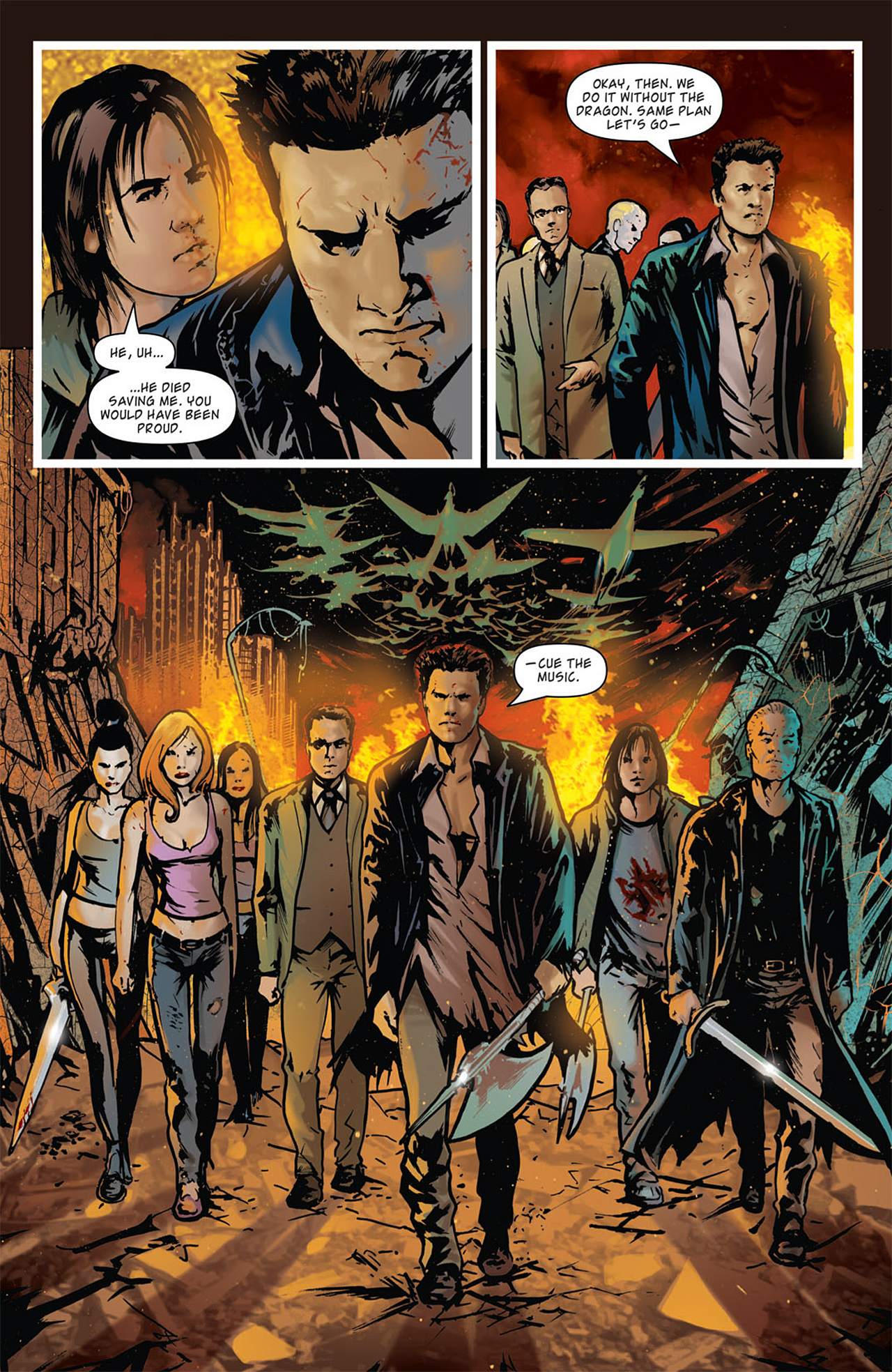 Read online Angel: After The Fall comic -  Issue #15 - 14