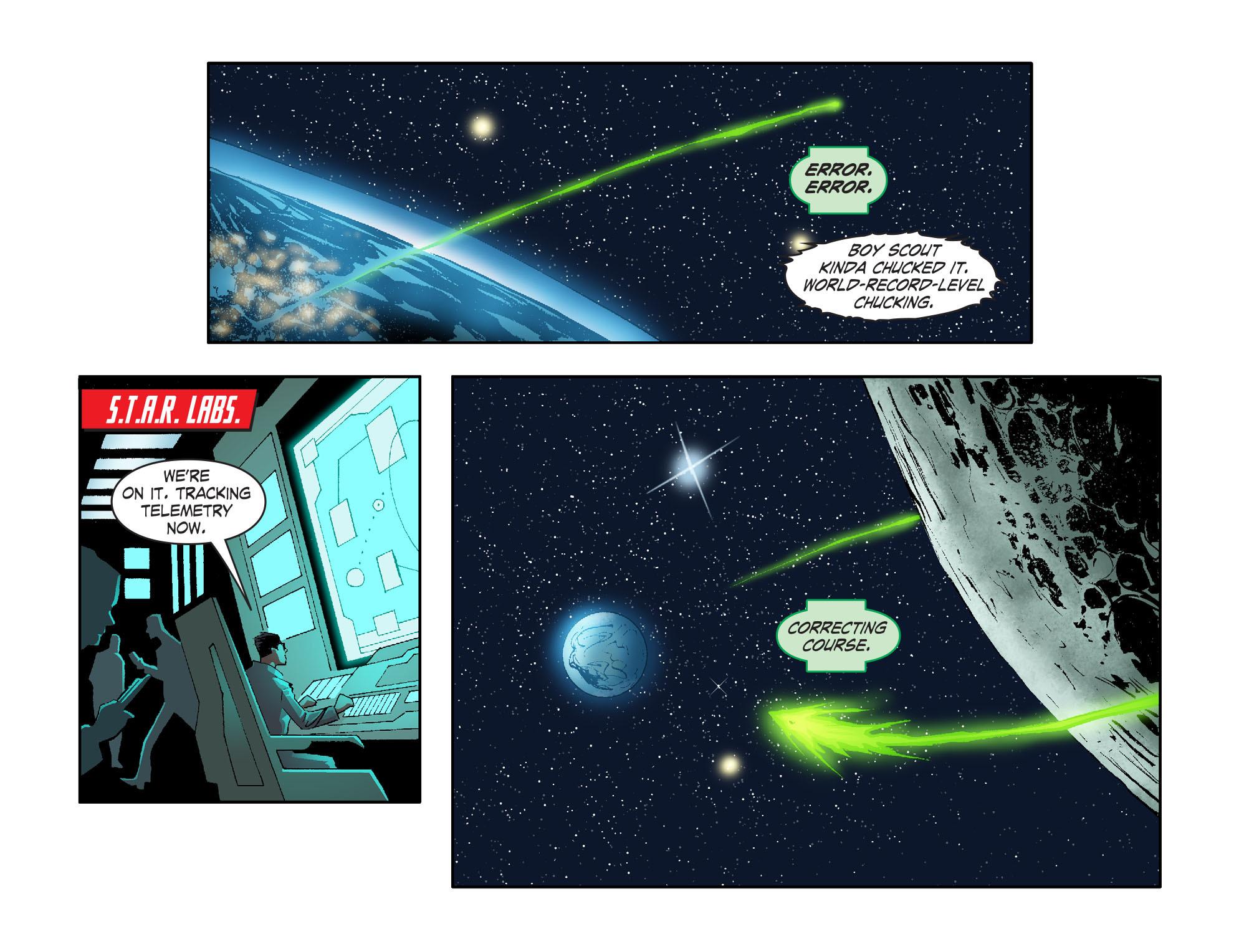 Read online Smallville: Lantern [I] comic -  Issue #2 - 13
