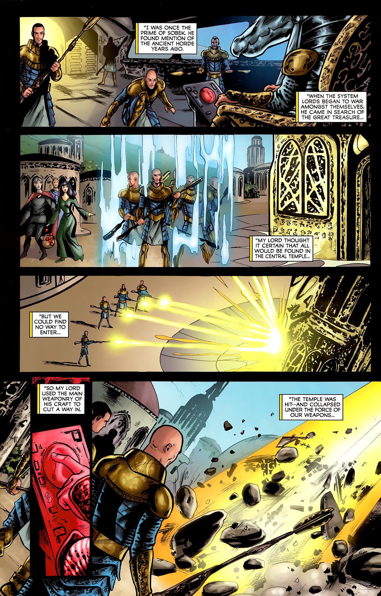 Read online Stargate: Daniel Jackson comic -  Issue #2 - 6