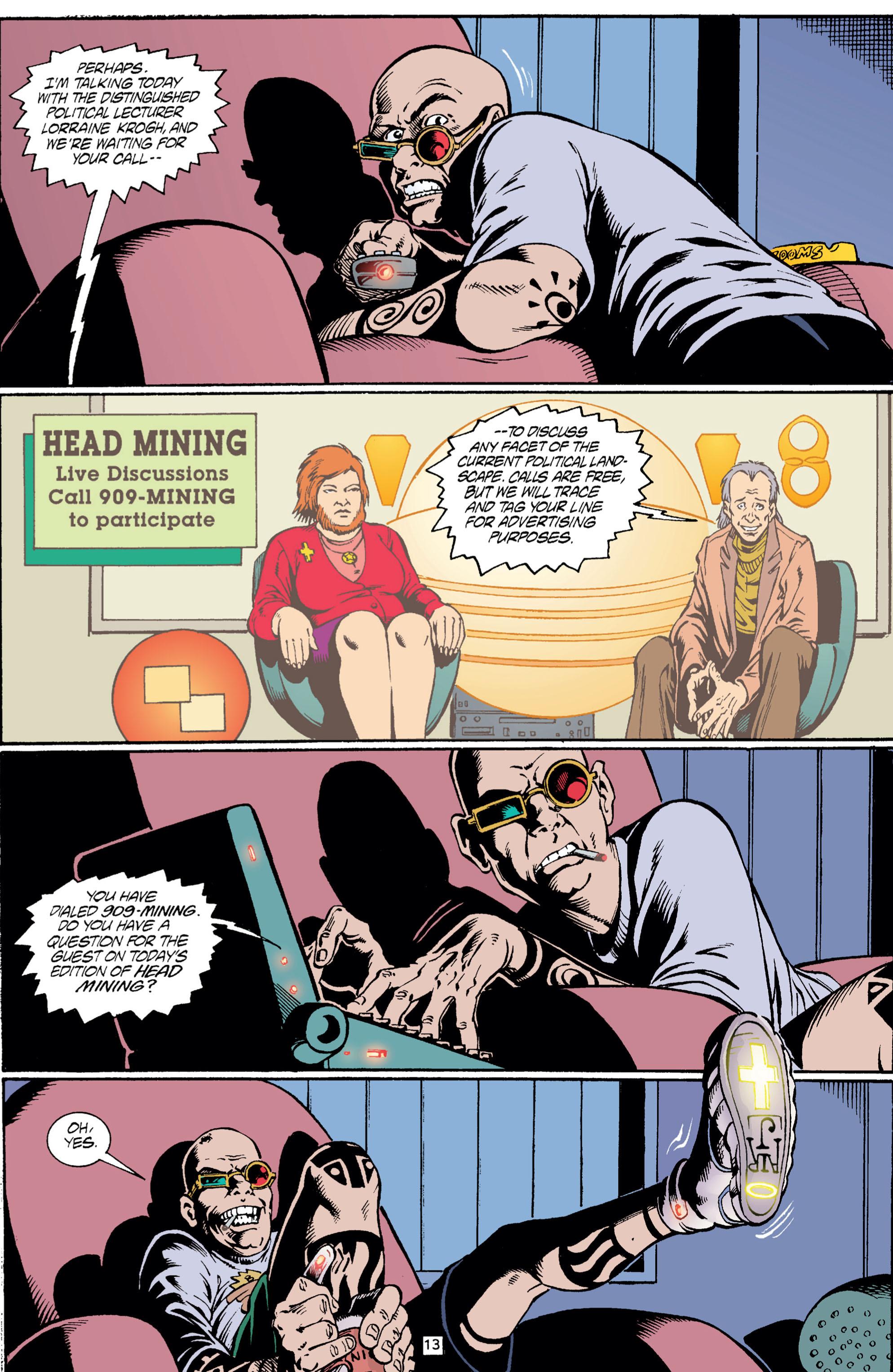 Read online Transmetropolitan comic -  Issue #5 - 14