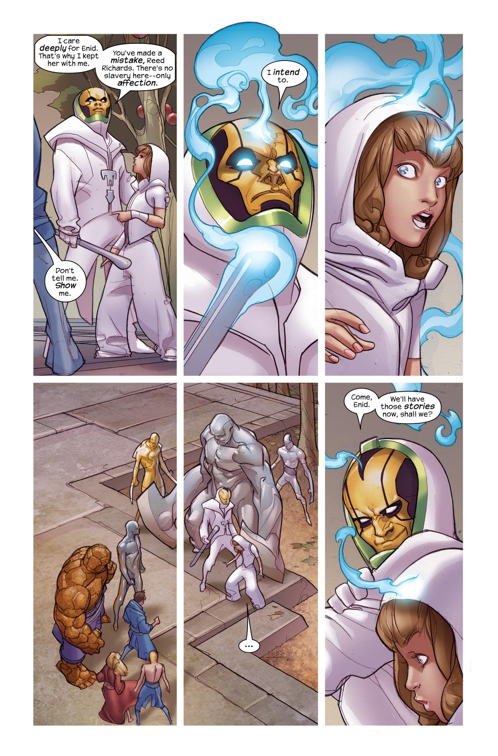 Read online Ultimate Fantastic Four (2004) comic -  Issue #46 - 17