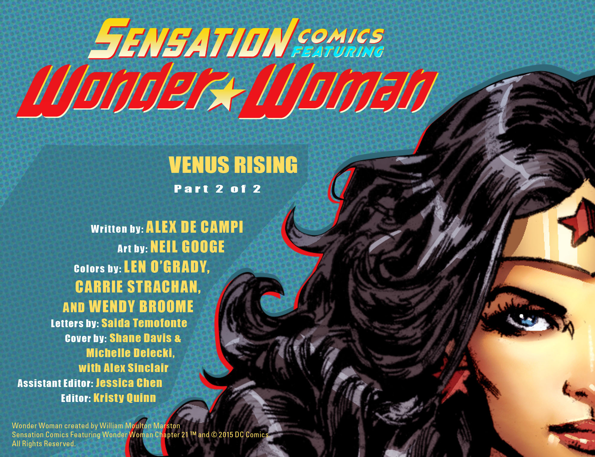 Read online Sensation Comics Featuring Wonder Woman comic -  Issue #21 - 2