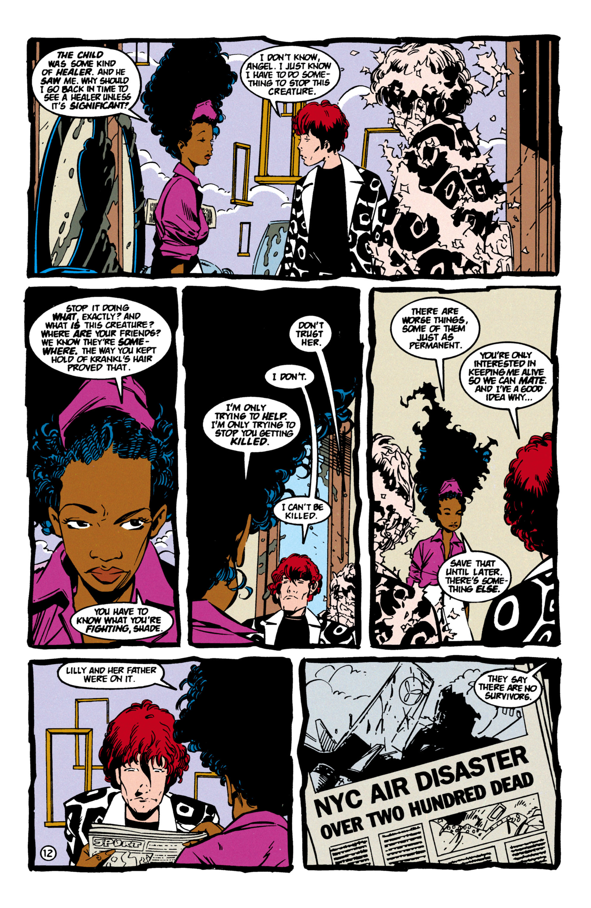 Read online Shade, the Changing Man comic -  Issue #60 - 13