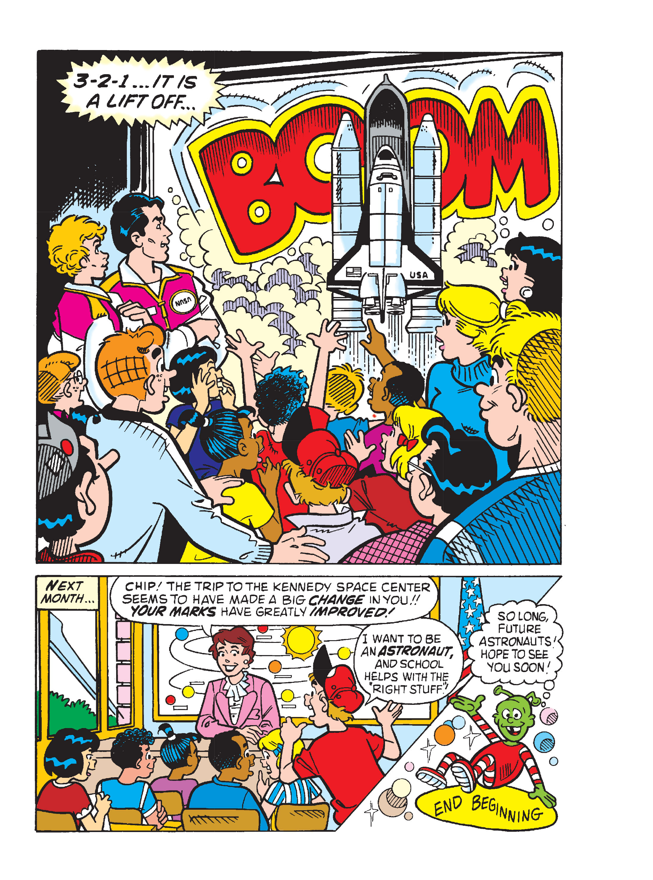 Read online Archie's Funhouse Double Digest comic -  Issue #13 - 113