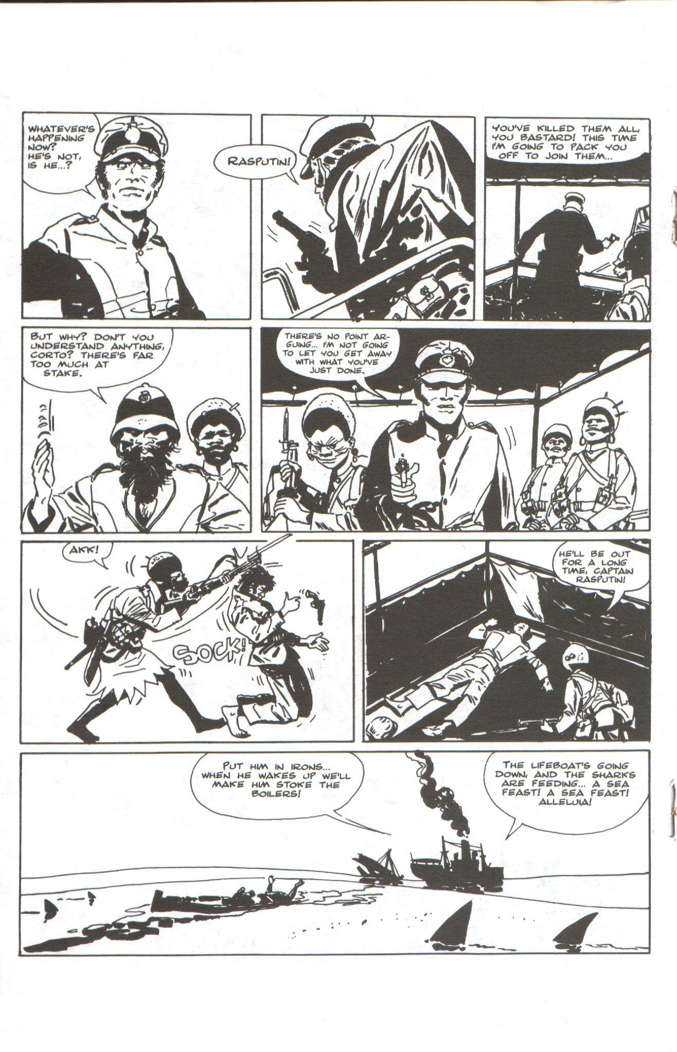 Read online Corto Maltese: Ballad of the Salt Sea comic -  Issue #1 - 14