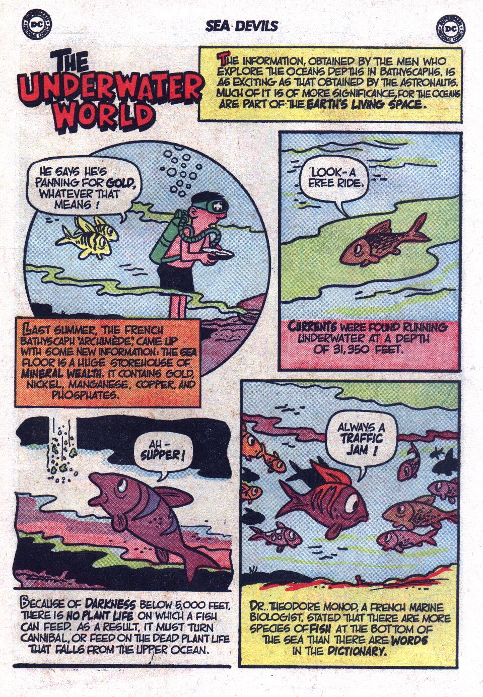 Read online Sea Devils comic -  Issue #17 - 11