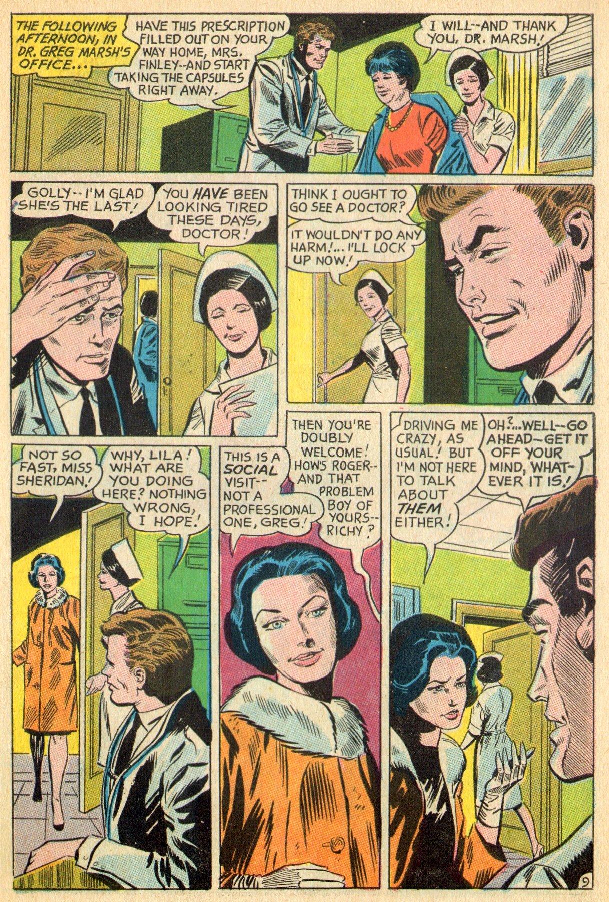 Read online Secret Hearts comic -  Issue #119 - 27