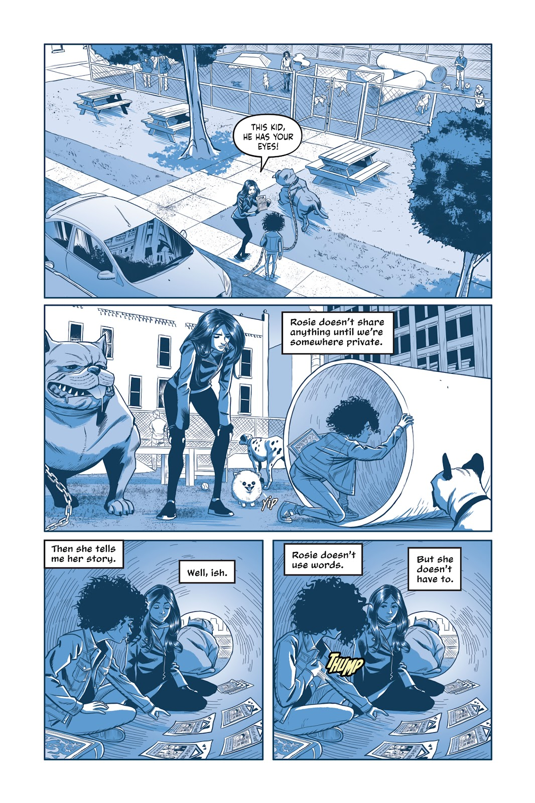 Read online Under the Moon: A Catwoman Tale comic -  Issue # TPB (Part 2) - 80