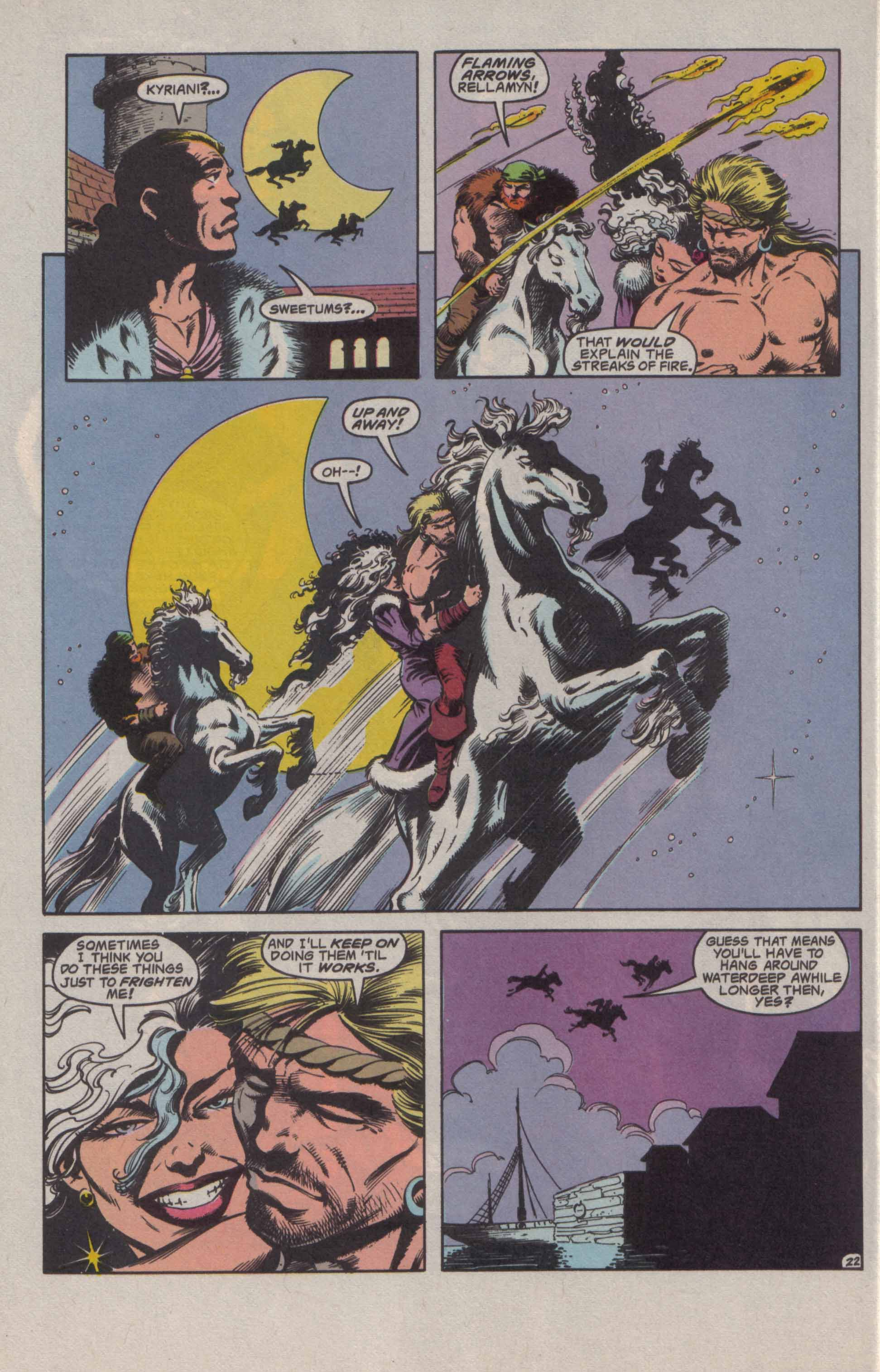 Read online Advanced Dungeons & Dragons comic -  Issue #20 - 23