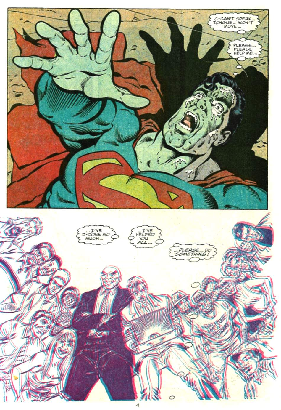 Read online Adventures of Superman (1987) comic -  Issue #479 - 5