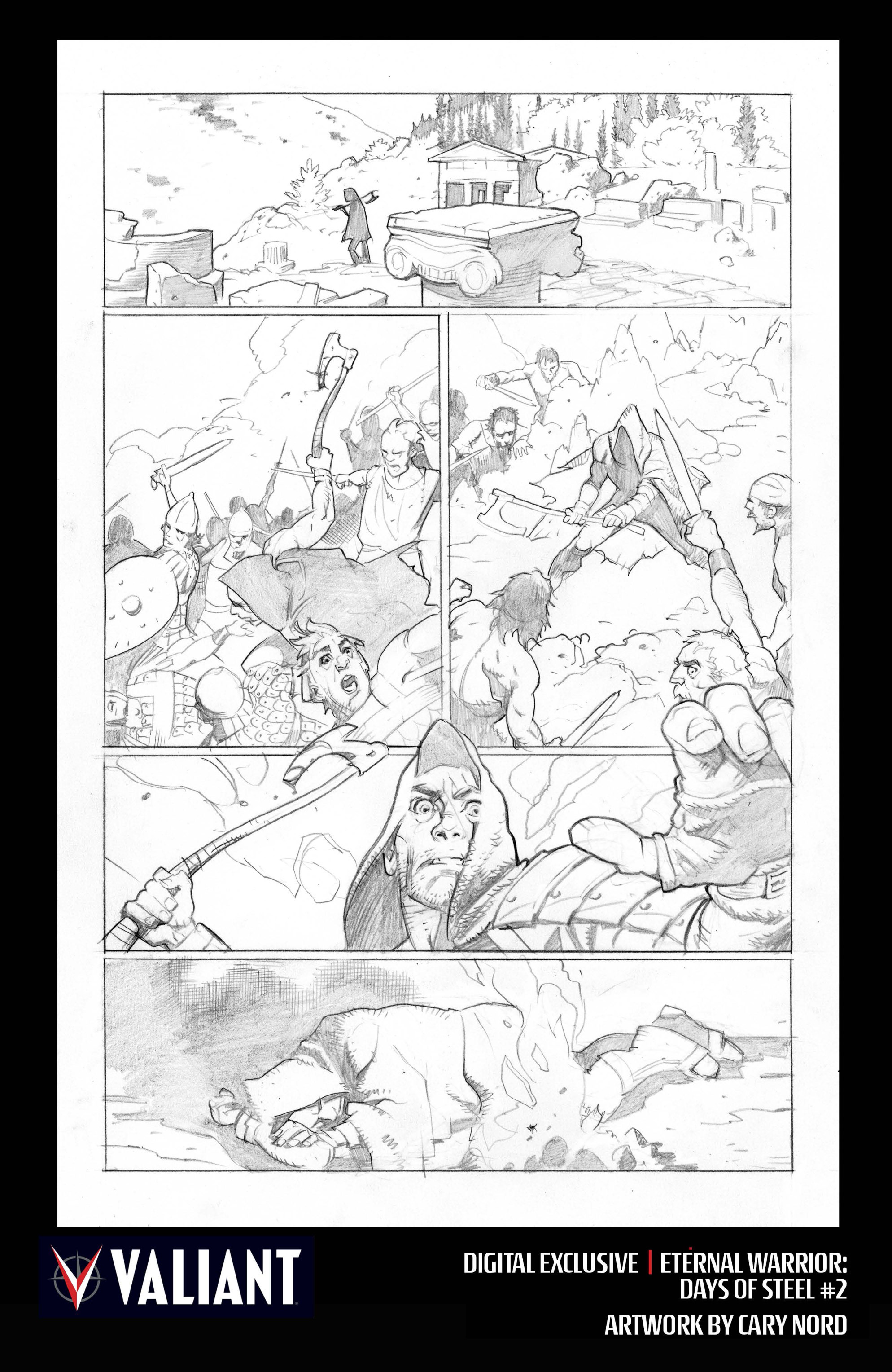 Read online Eternal Warrior: Days of Steel comic -  Issue #2 - 32