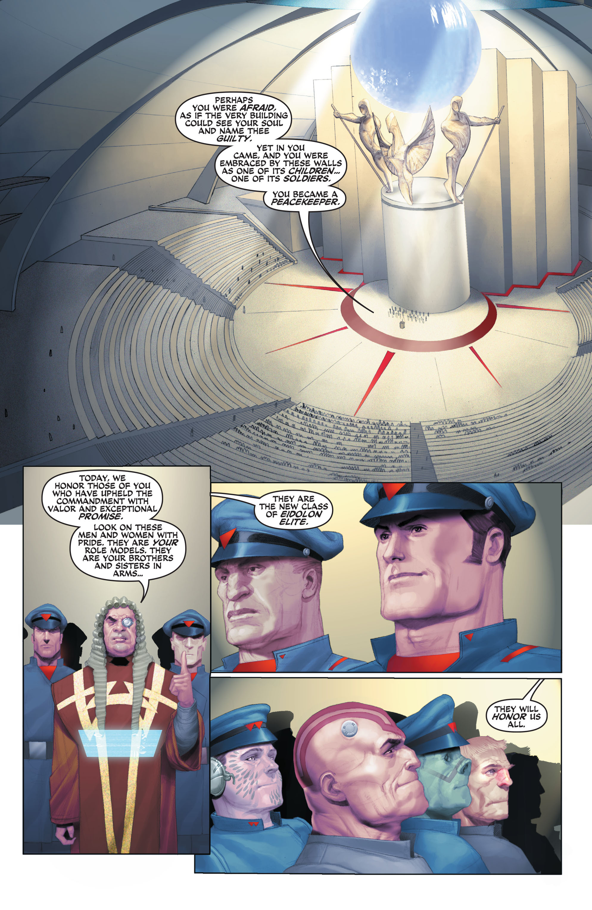 Read online Space Ghost (2016) comic -  Issue # Full - 12