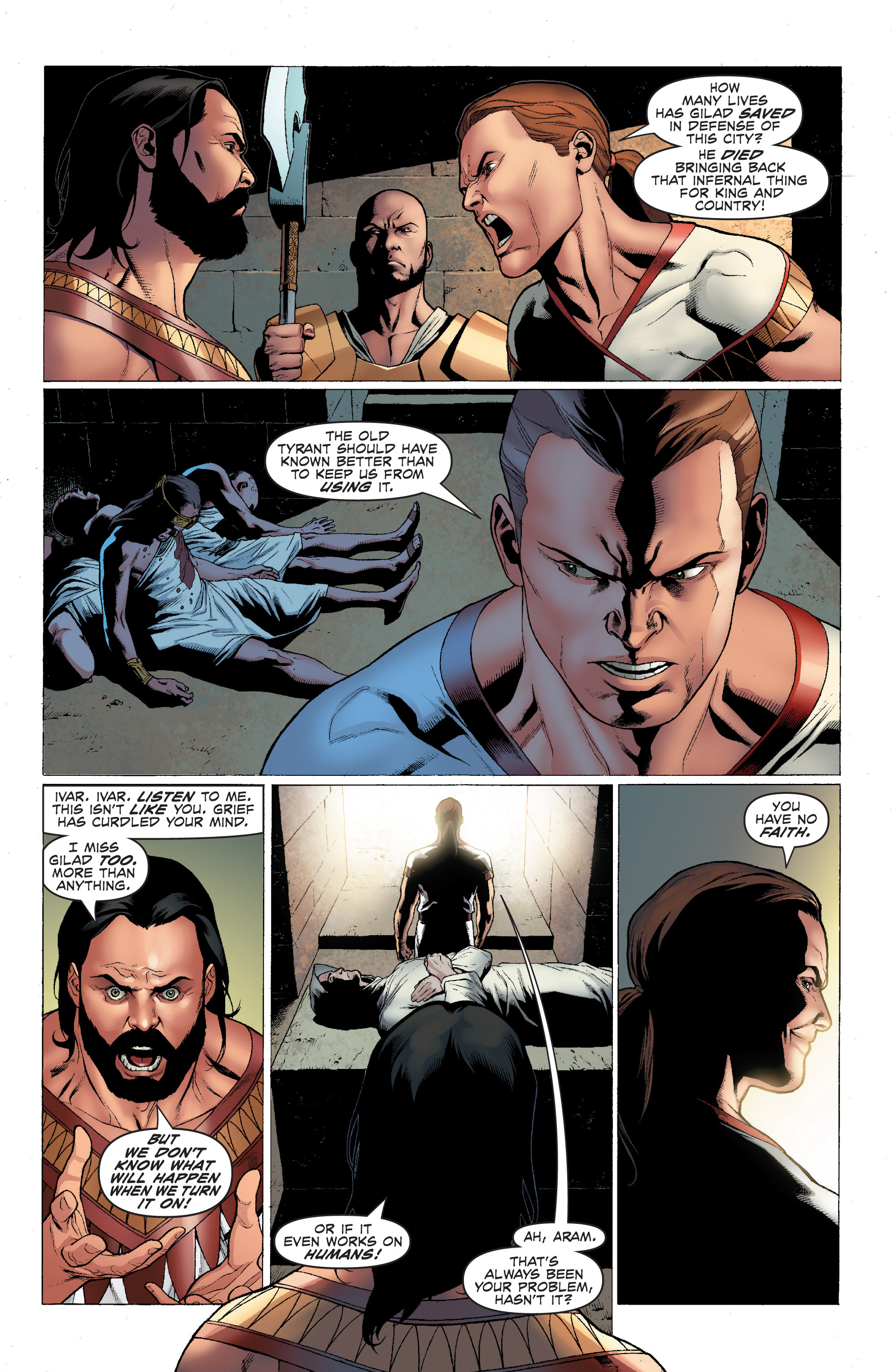 Read online Archer and Armstrong comic -  Issue #Archer and Armstrong _TPB 1 - 8
