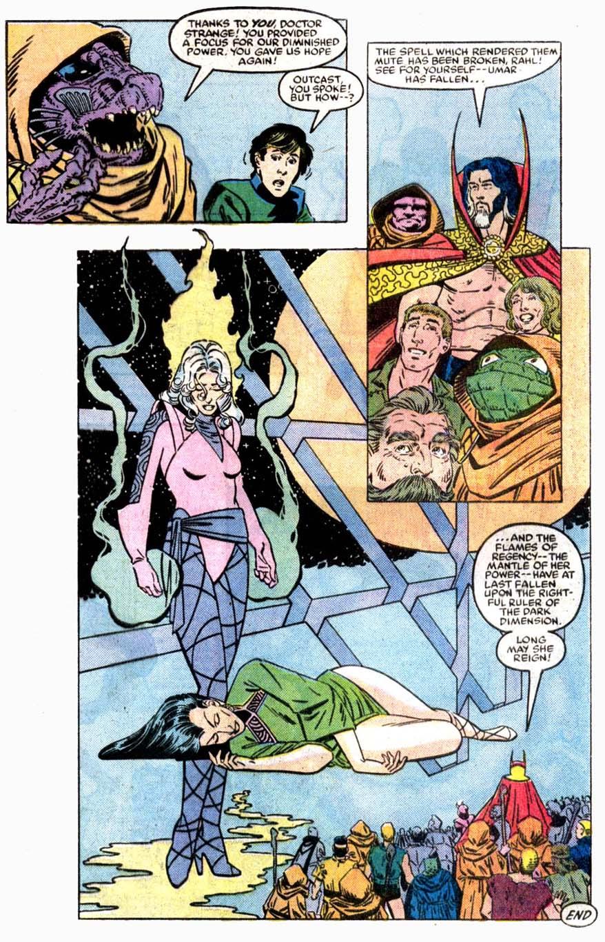 Doctor Strange (1974) 73 Page 22