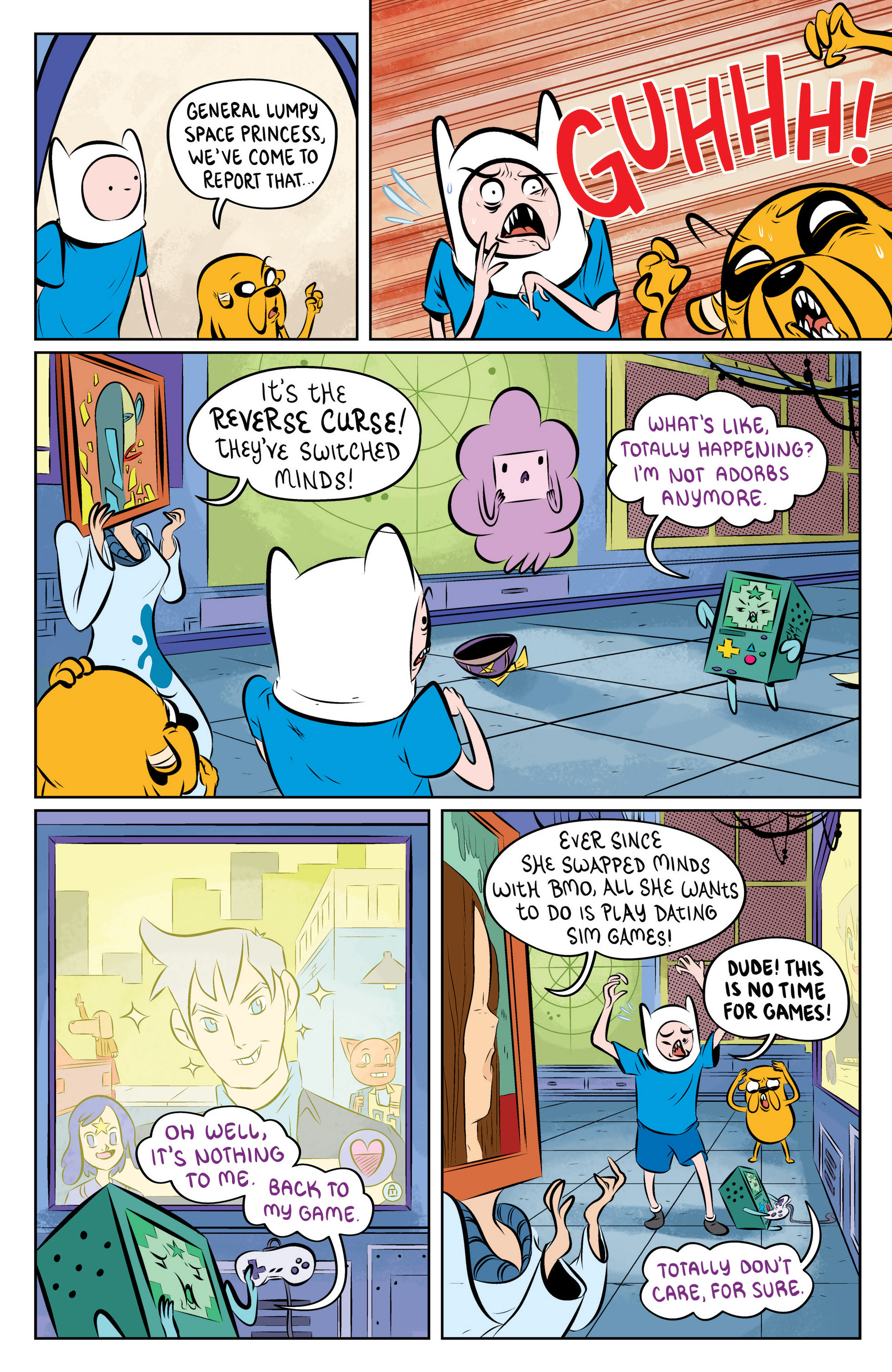 Read online Adventure Time: The Flip Side comic -  Issue #4 - 20